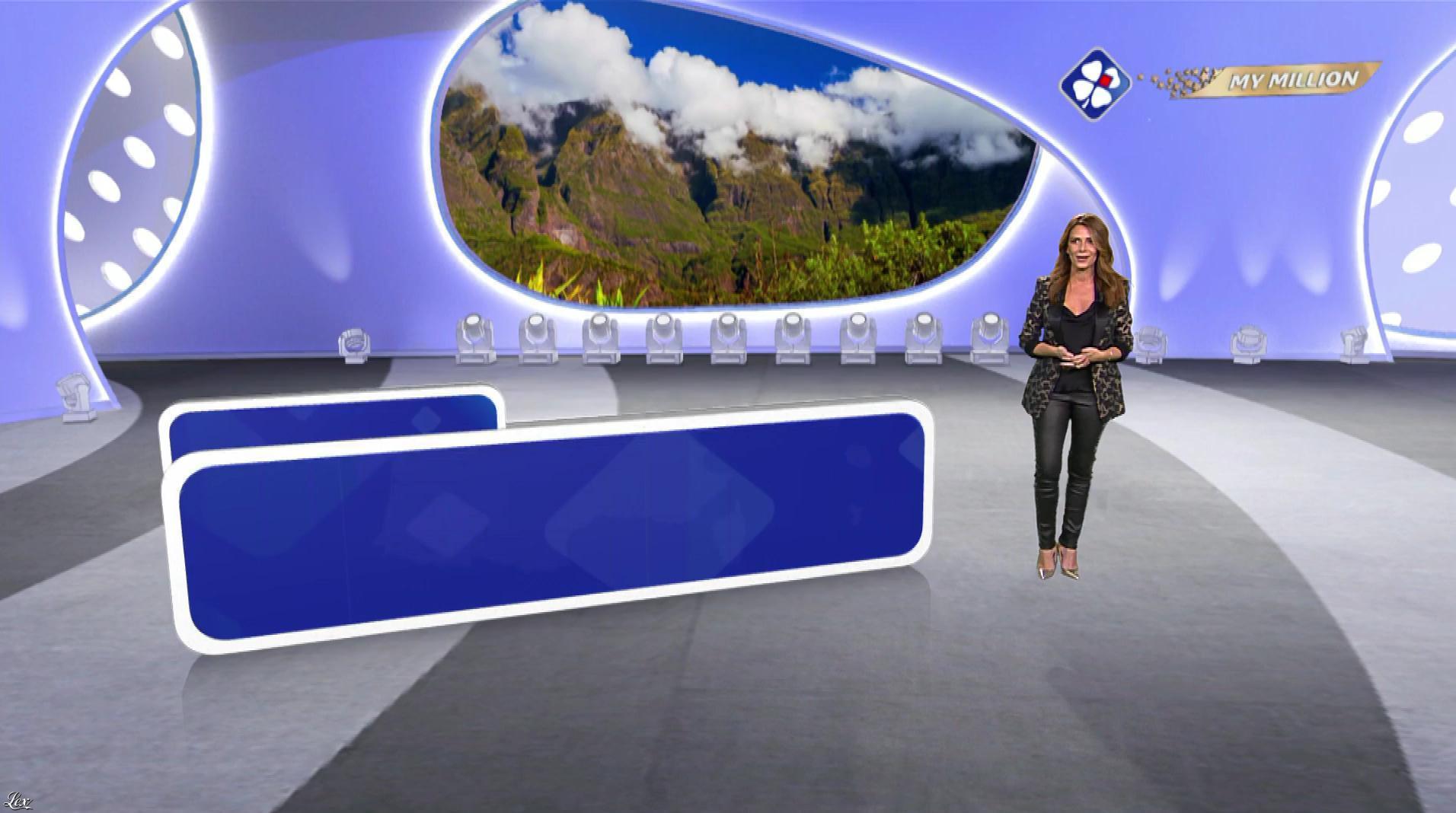 Elsa Fayer dans My Million. Diffusé à la télévision le 18/12/18.