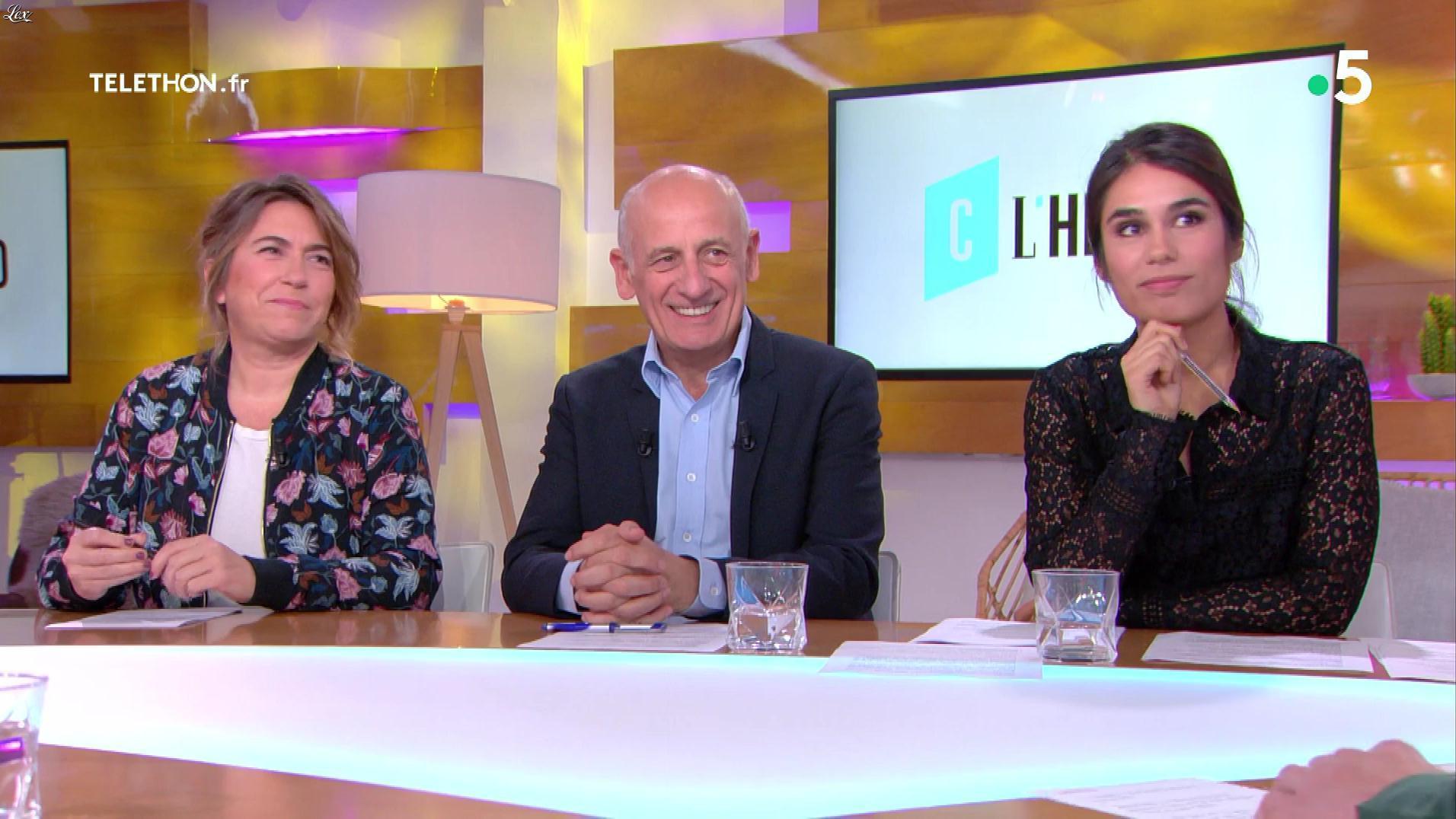 Emilie Tran Nguyen dans C à Vous, C l'Hebdo. Diffusé à la télévision le 08/12/18.