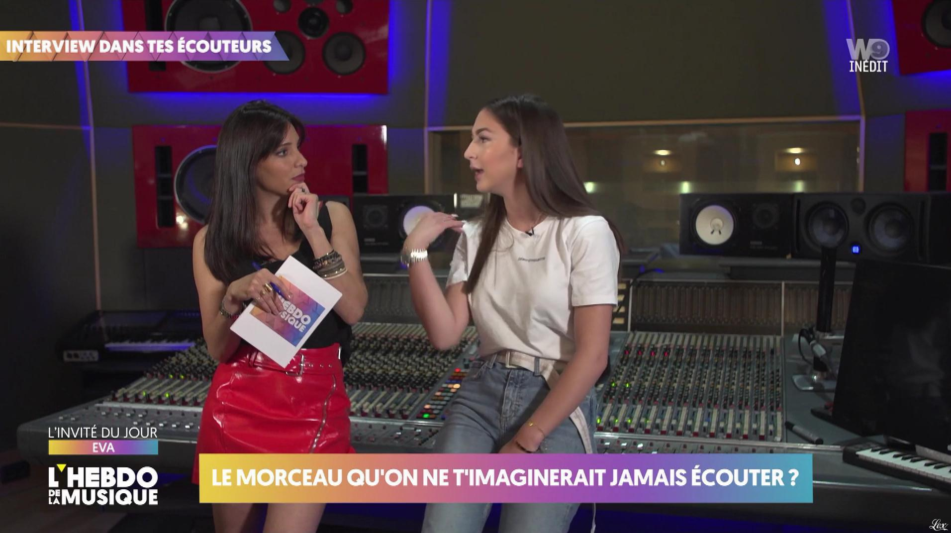 Erika Moulet dans l'Hebdo de la Musique. Diffusé à la télévision le 15/06/19.