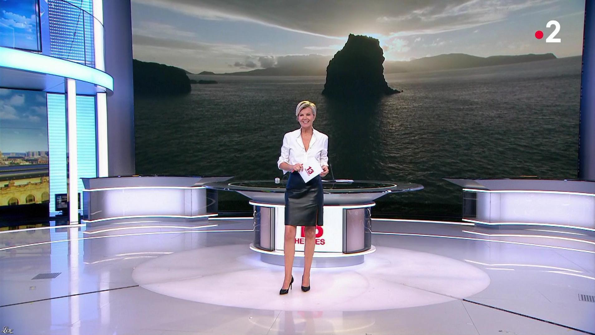 Estelle Colin dans le 13h. Diffusé à la télévision le 24/07/19.