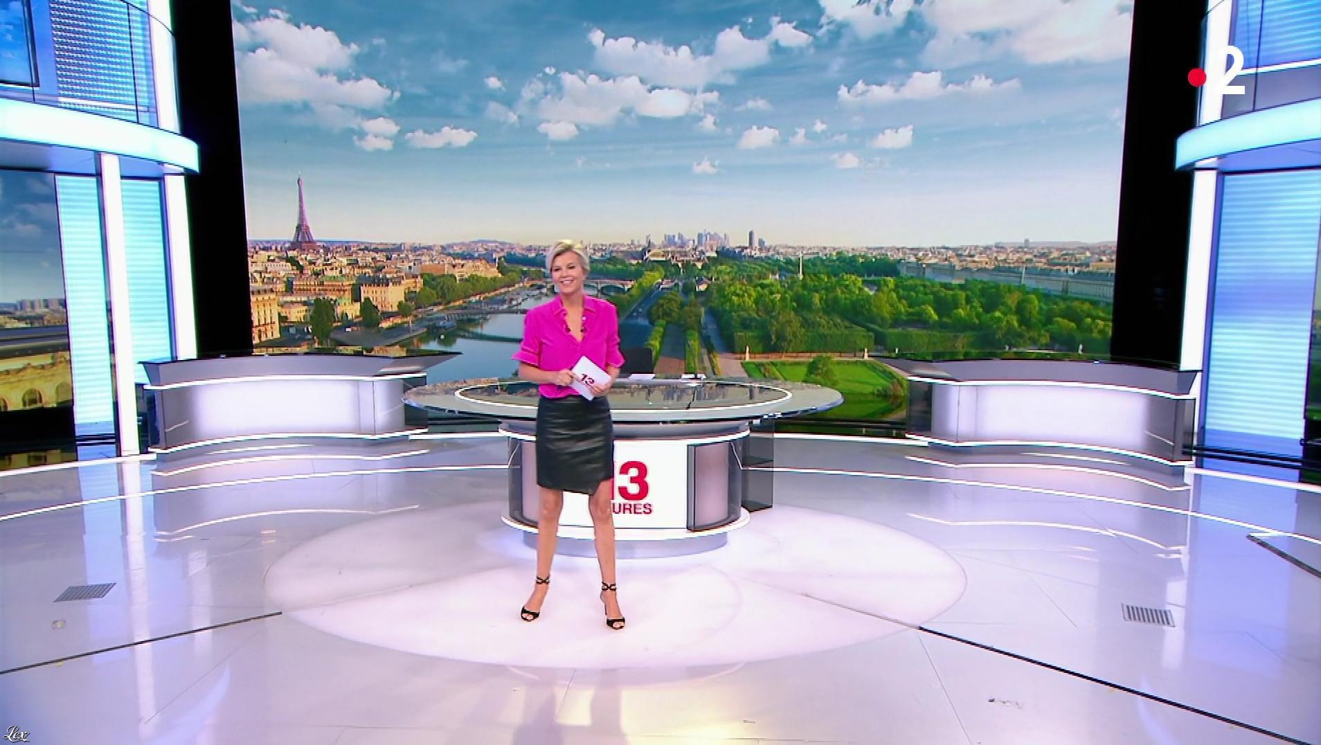 Estelle Colin dans le 13h. Diffusé à la télévision le 25/07/19.