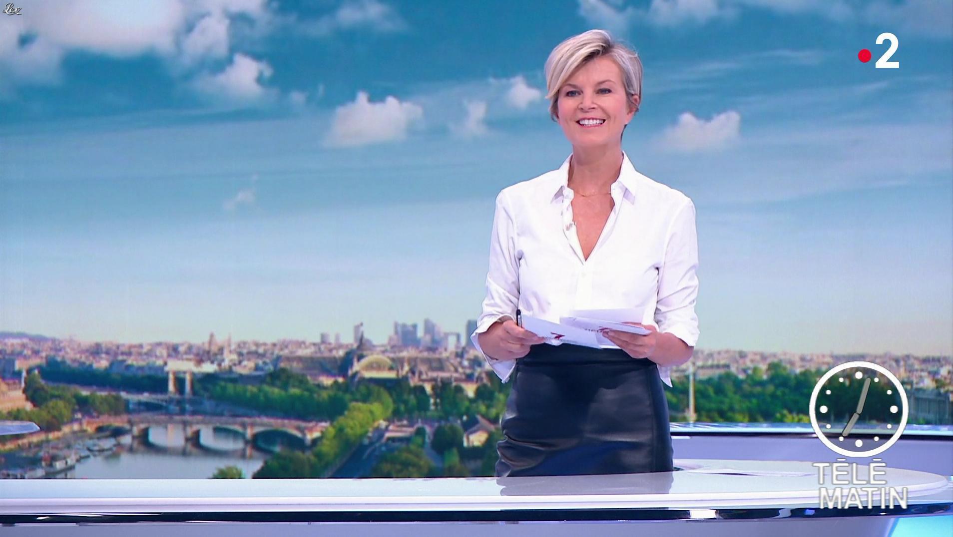 Estelle Colin dans Télématin. Diffusé à la télévision le 05/06/19.
