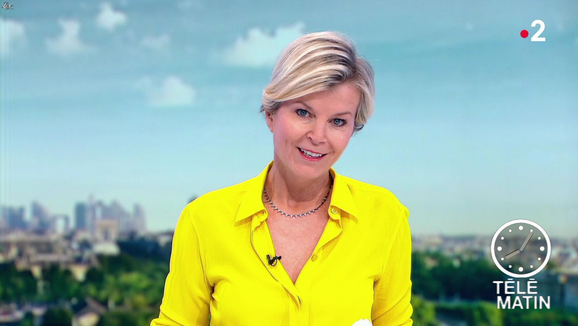 Estelle Colin dans Télématin. Diffusé à la télévision le 29/05/19.