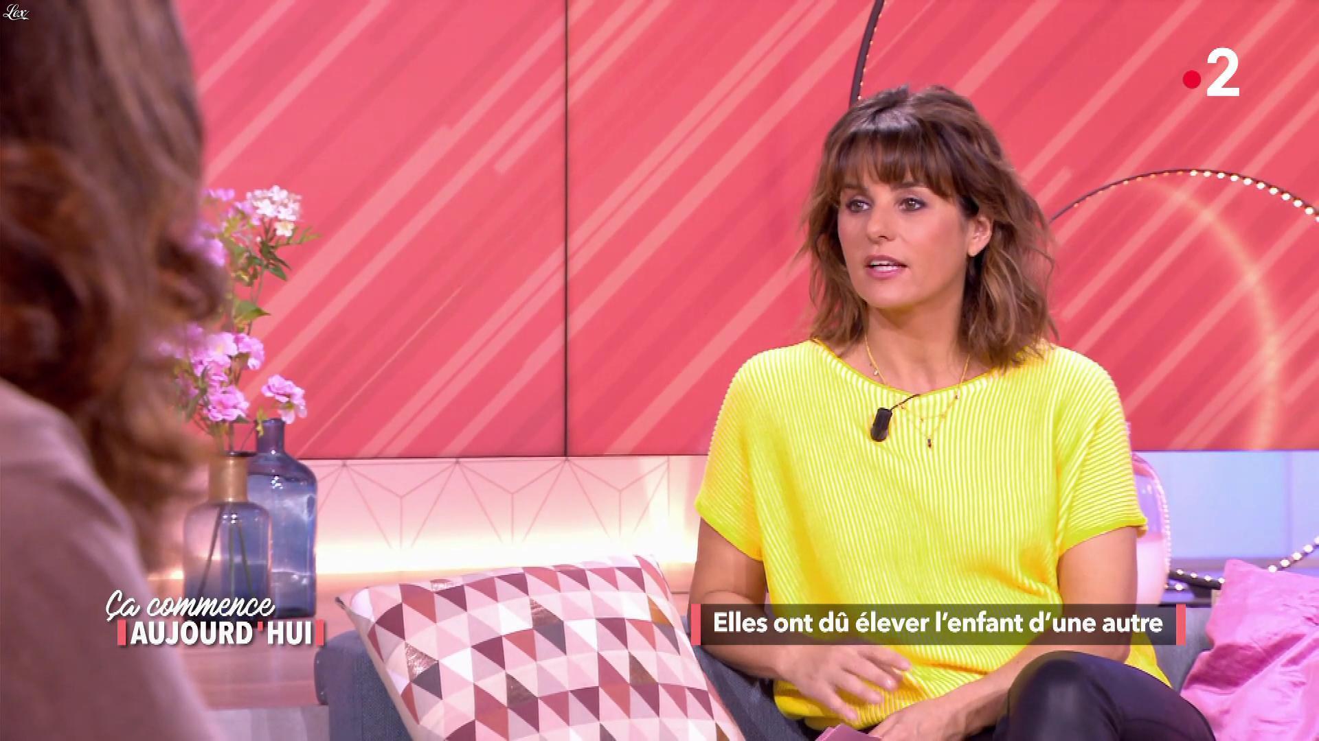 Faustine Bollaert dans Ça Commence Aujourd'hui. Diffusé à la télévision le 06/05/19.