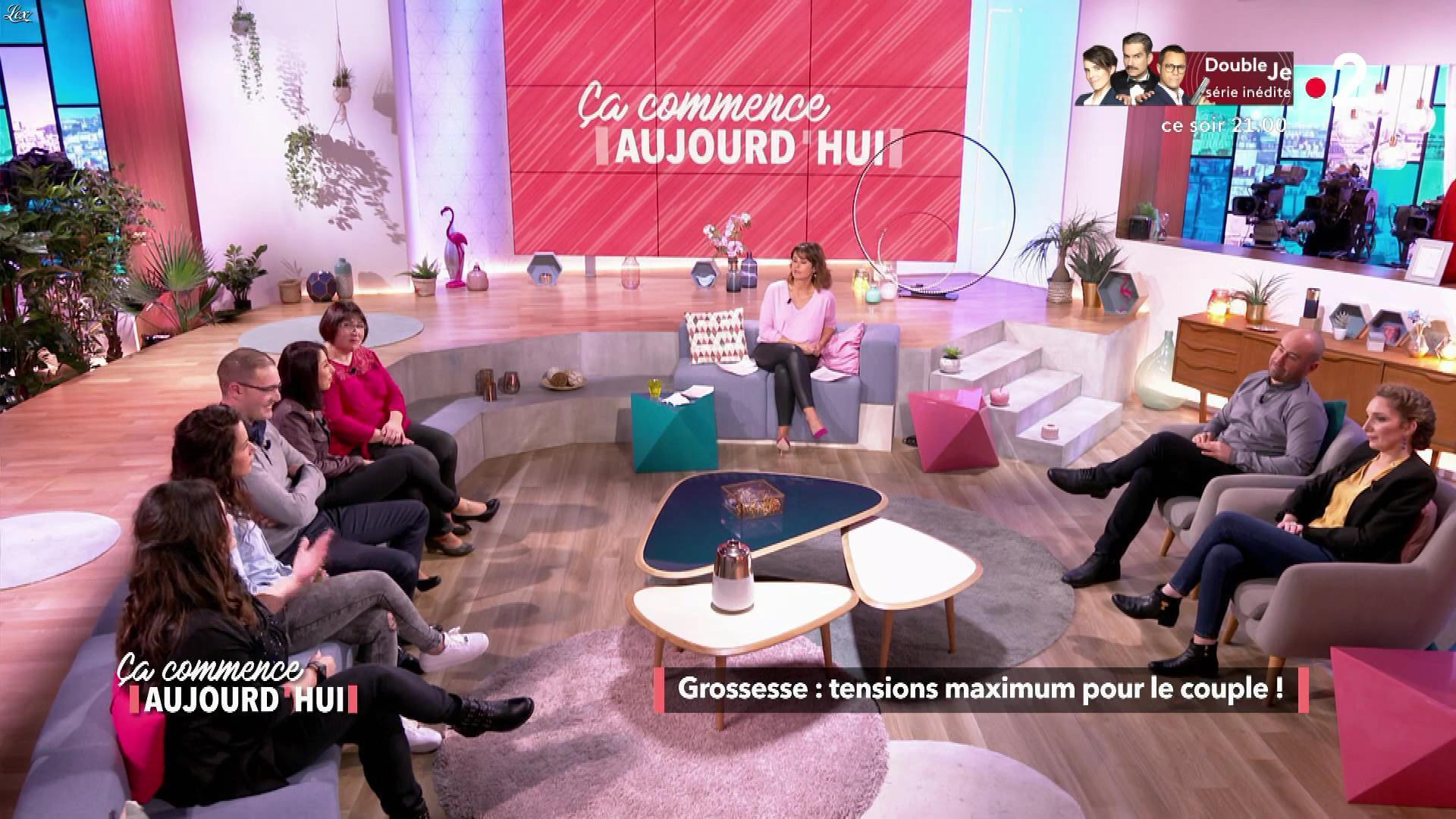 Faustine Bollaert dans Ça Commence Aujourd'hui. Diffusé à la télévision le 24/05/19.