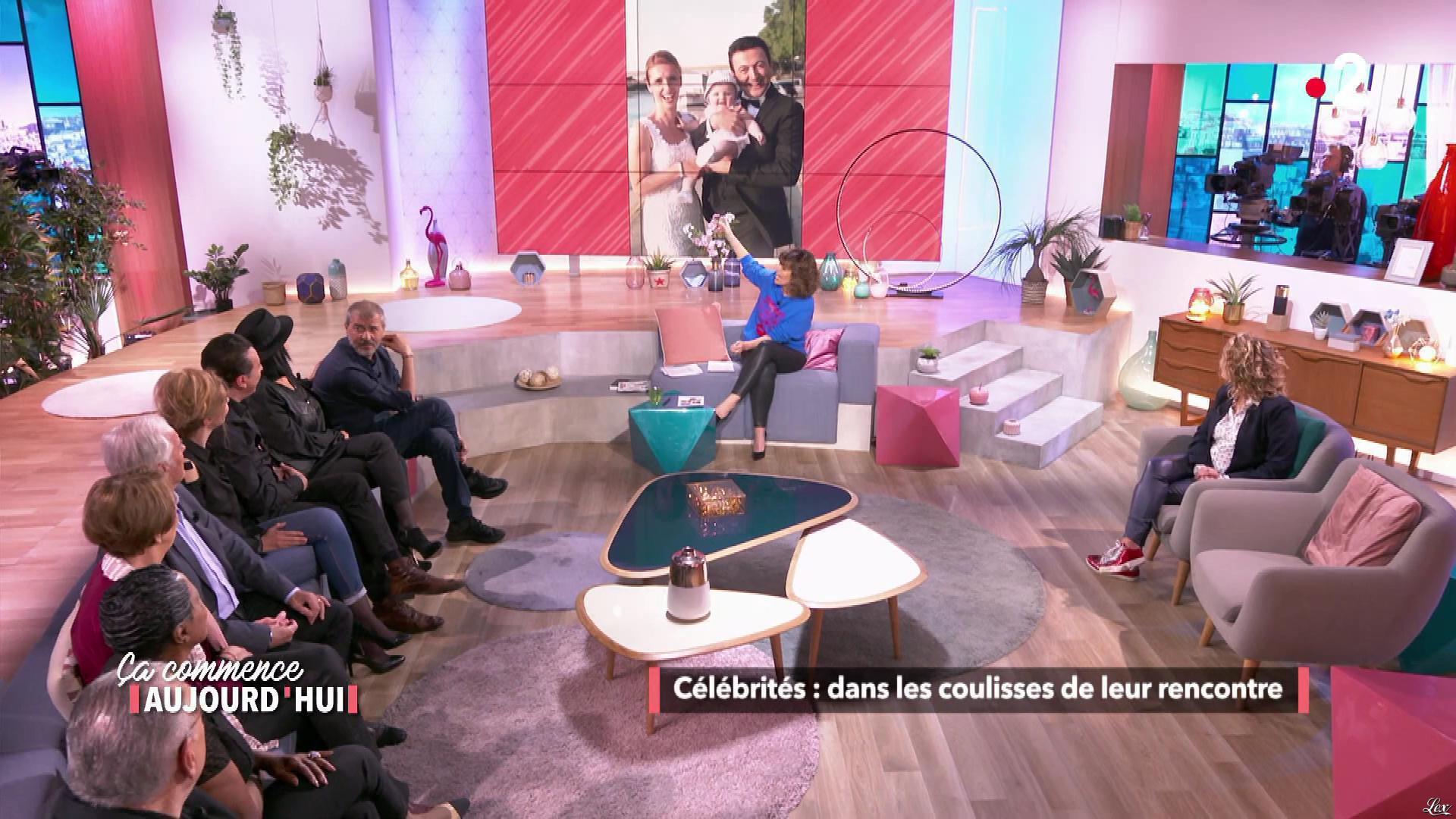 Faustine Bollaert et Christele Albaret dans Ça Commence Aujourd'hui. Diffusé à la télévision le 14/06/19.