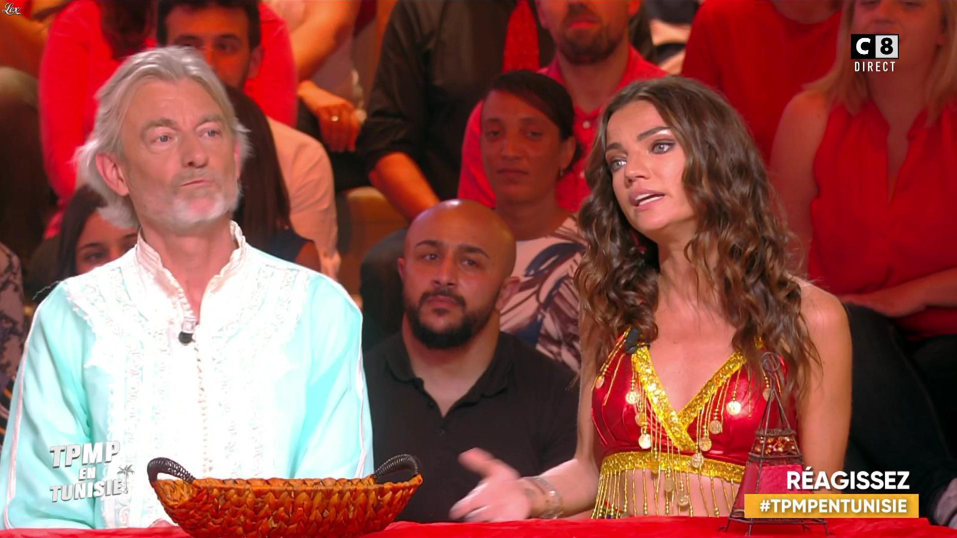 FrancesÇa Antoniotti dans Touche pas à mon Poste en Tunisie. Diffusé à la télévision le 13/06/19.