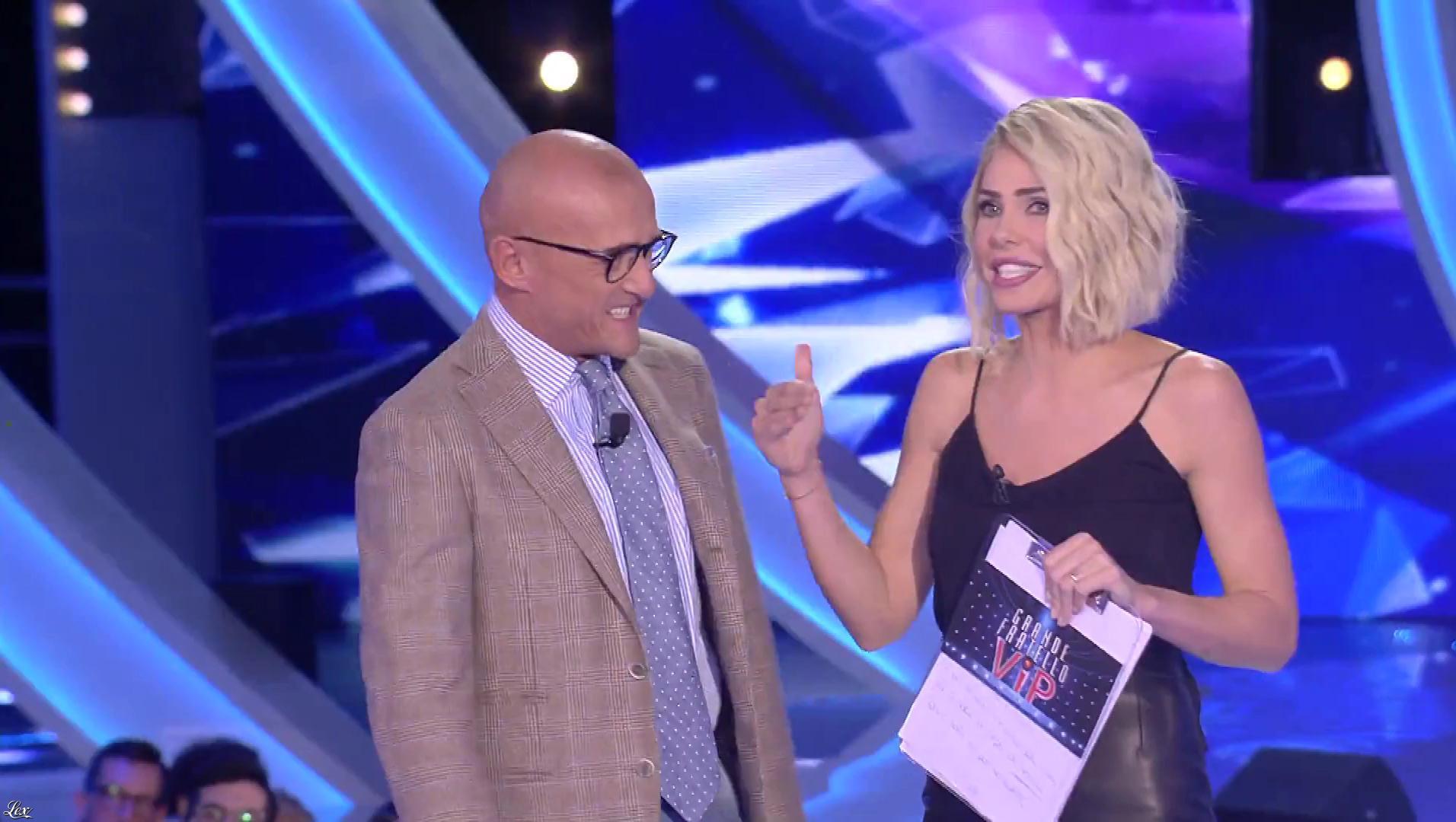 Ilary Blasi dans Grande Fratello VIP. Diffusé à la télévision le 22/10/18.