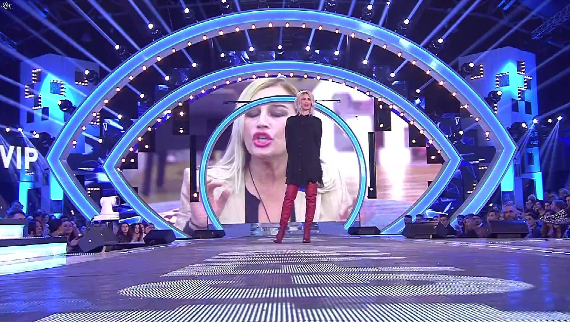 Ilary Blasi dans Grande Fratello VIP. Diffusé à la télévision le 22/11/18.