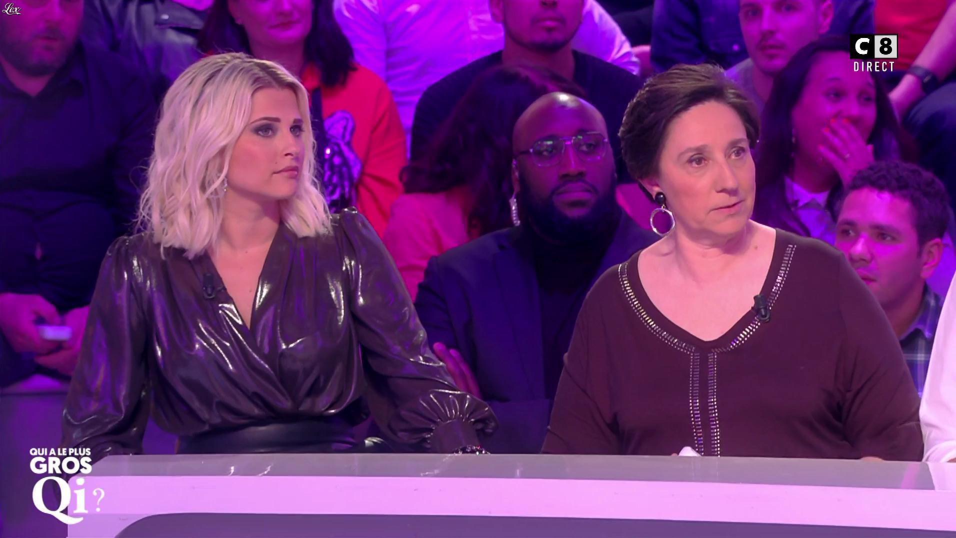 Kelly Vedovelli dans Qui à le Plus Gros QI. Diffusé à la télévision le 14/03/19.