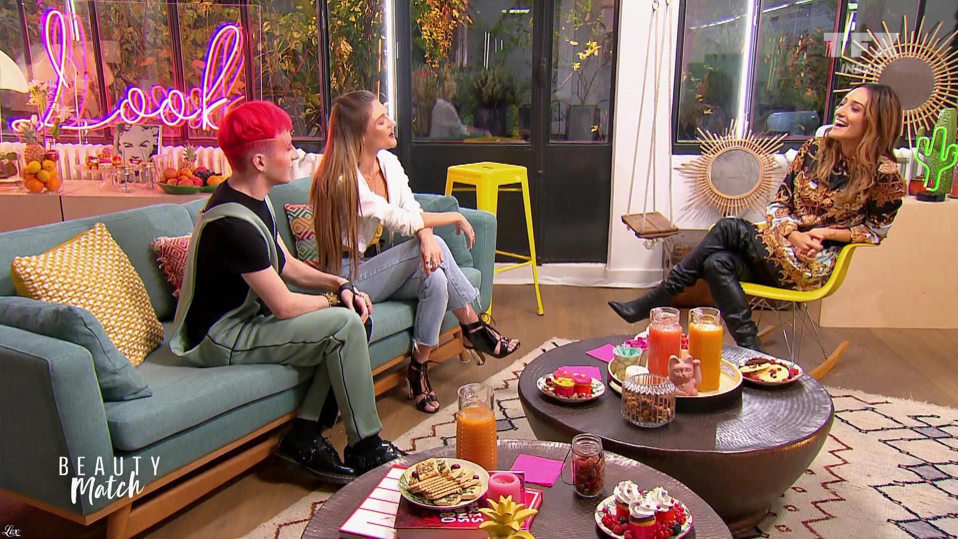 Kenzasmg dans Beauty Match. Diffusé à la télévision le 12/04/19.