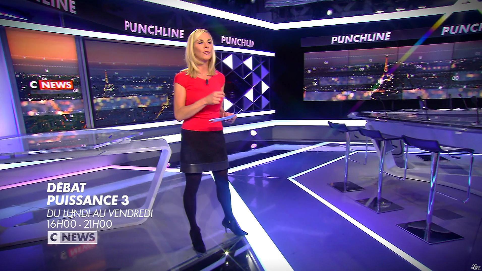 Laurence Ferrari dans une Bande-Annonce de Punchline. Diffusé à la télévision le 21/01/19.