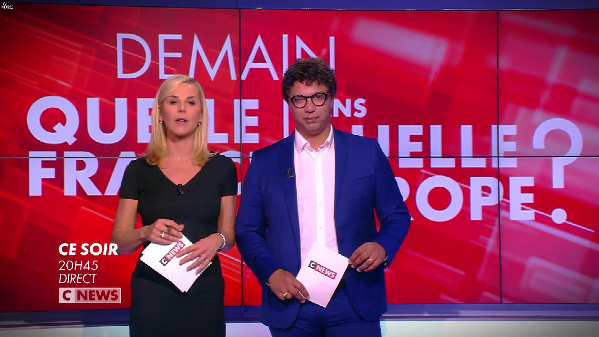 Laurence Ferrari dans une Bande-Annonce du Grand Debat. Diffusé à la télévision le 07/05/19.