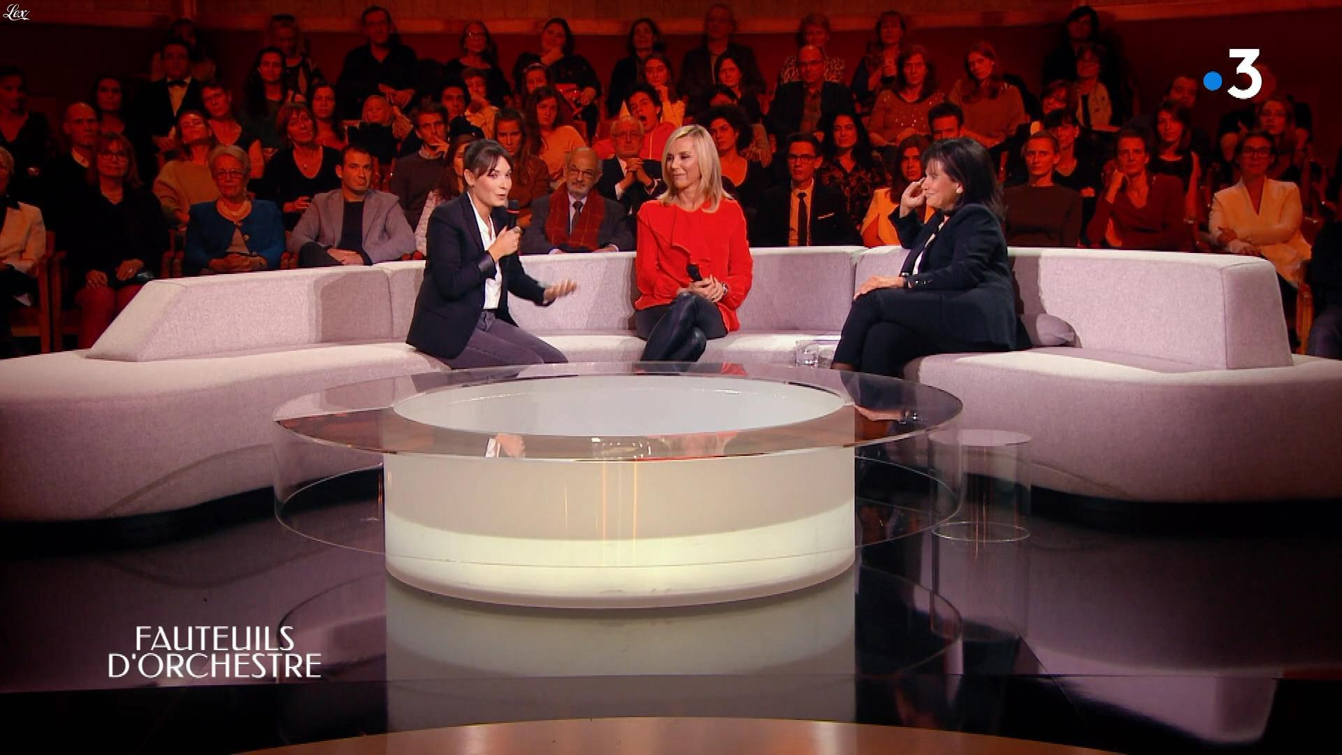 Laurence Ferrari dans Fauteuils d'Orchestre. Diffusé à la télévision le 25/01/19.