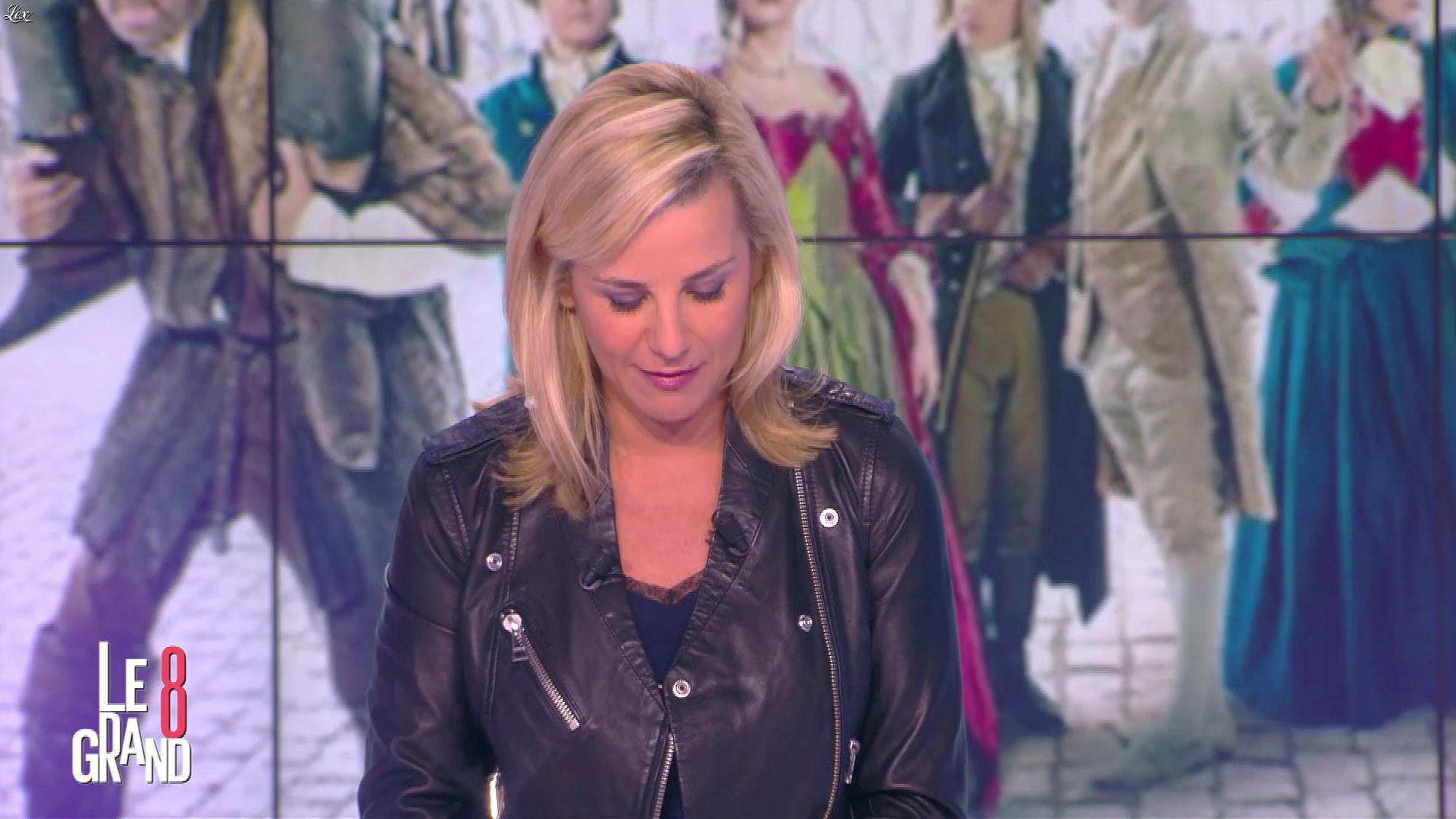 Laurence Ferrari dans le Grand 8. Diffusé à la télévision le 31/03/16.