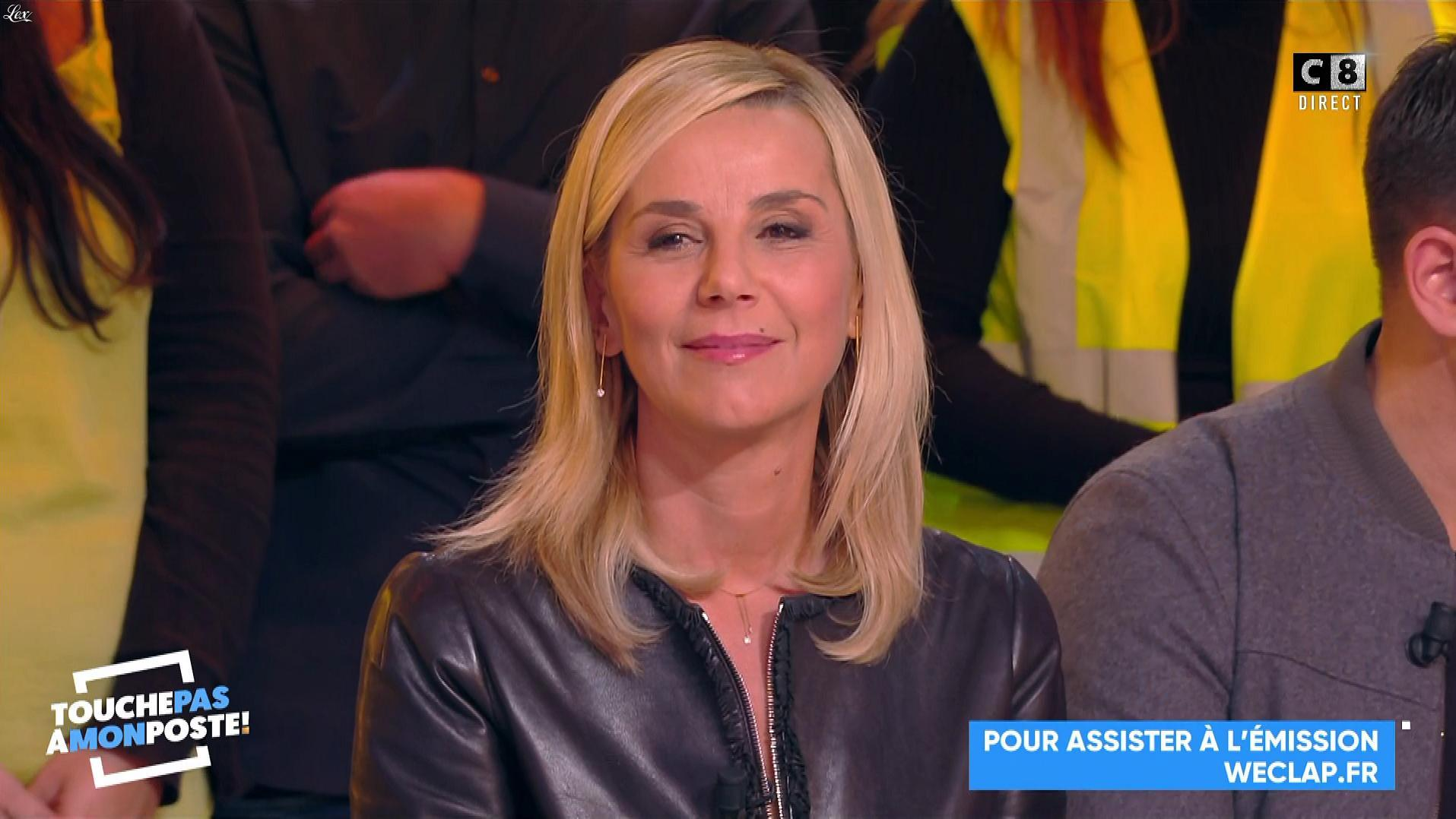 Laurence Ferrari dans Touche pas à mon Poste. Diffusé à la télévision le 26/11/18.