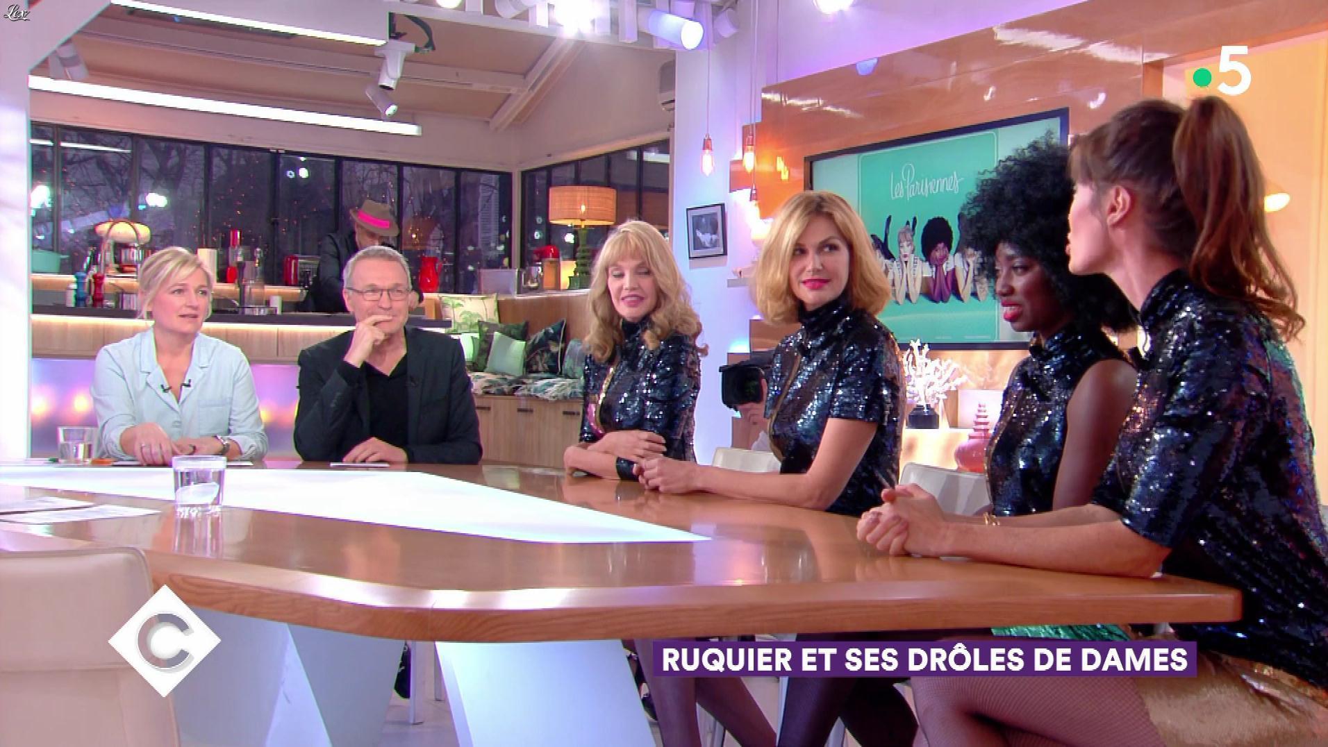 Les Parisiennes dans C à Vous. Diffusé à la télévision le 21/02/18.