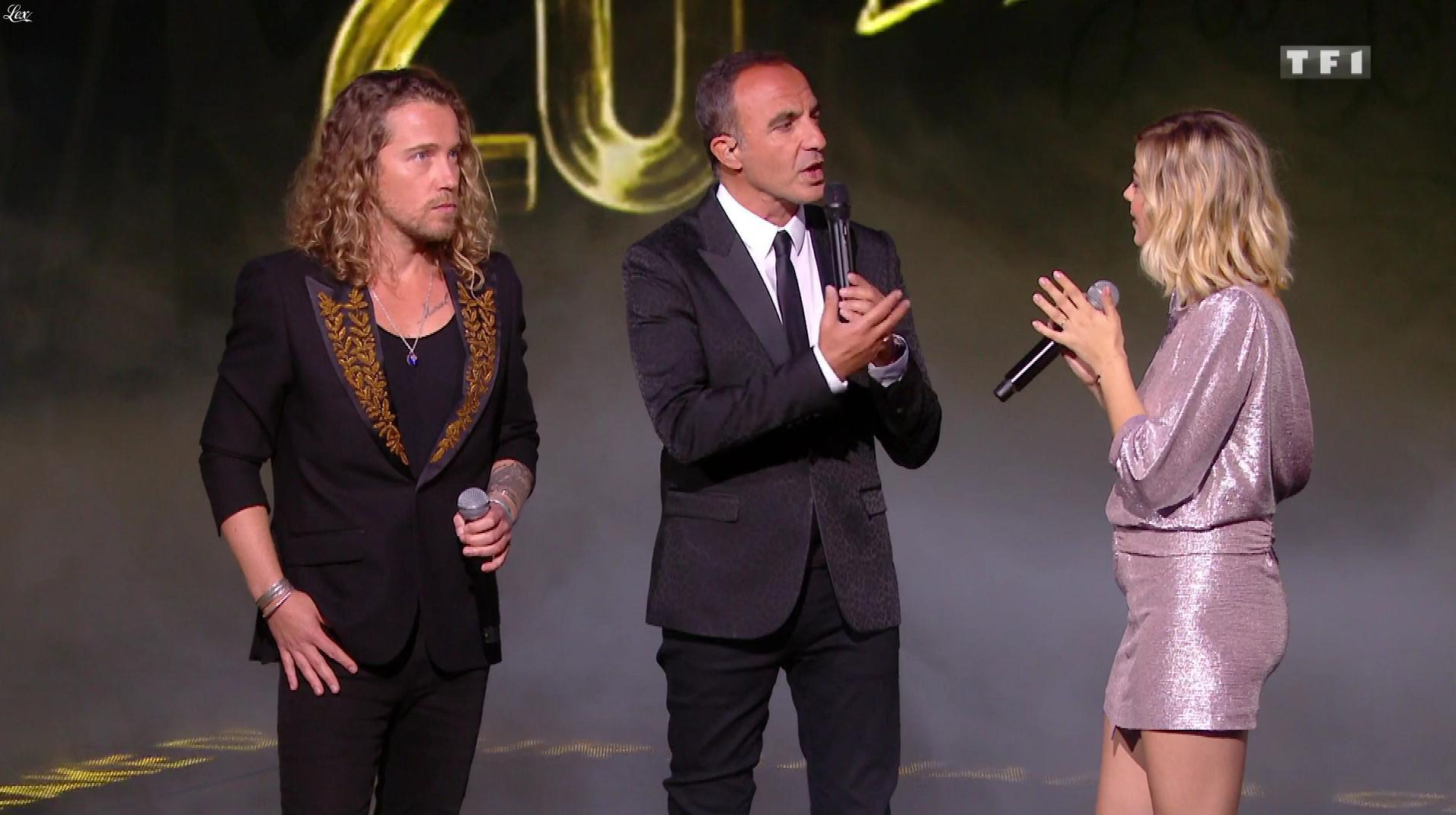 Louane dans NRJ Music Awards. Diffusé à la télévision le 10/11/18.