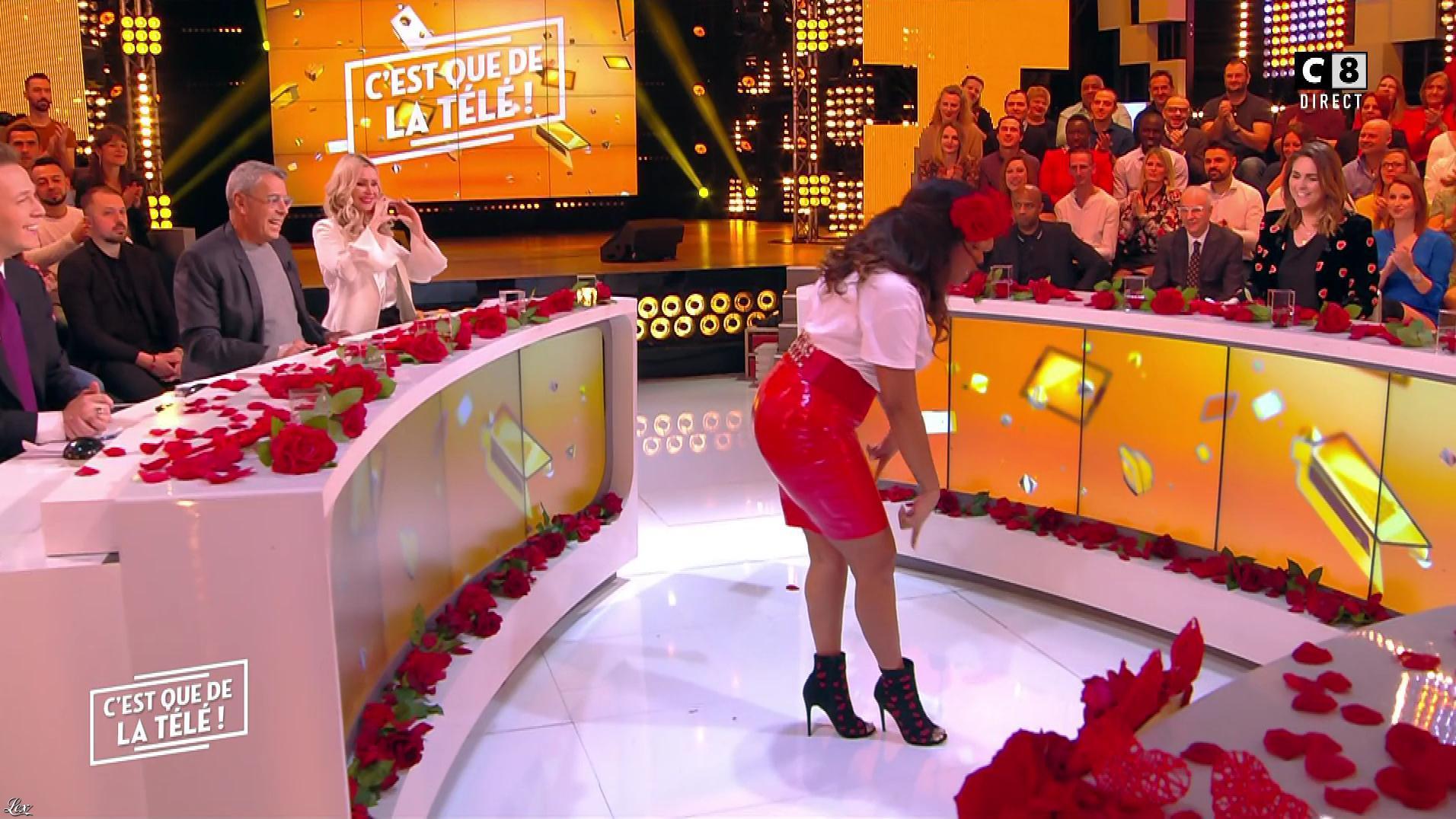 Ludivine Retory dans c'est Que de la Télé. Diffusé à la télévision le 14/02/19.