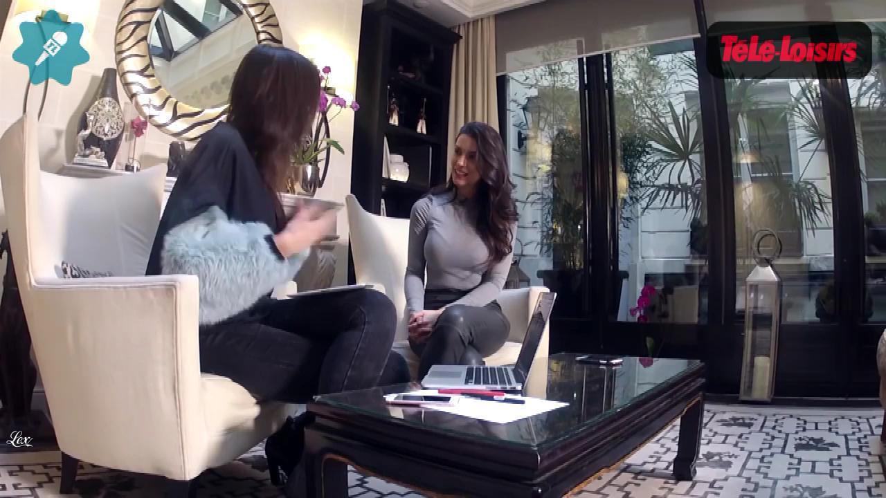 Ludivine Sagna dans Télé Loisirs. Diffusé à la télévision le 14/02/16.