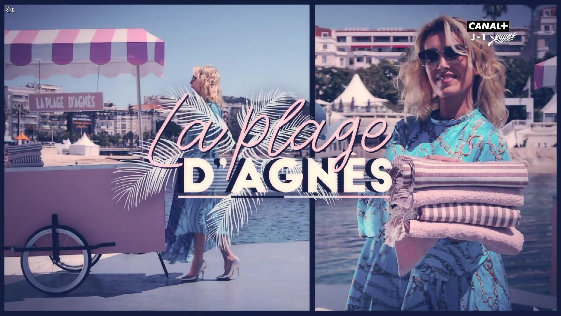 Mademoiselle Agnès dans la Plage d'Agnes. Diffusé à la télévision le 24/05/19.
