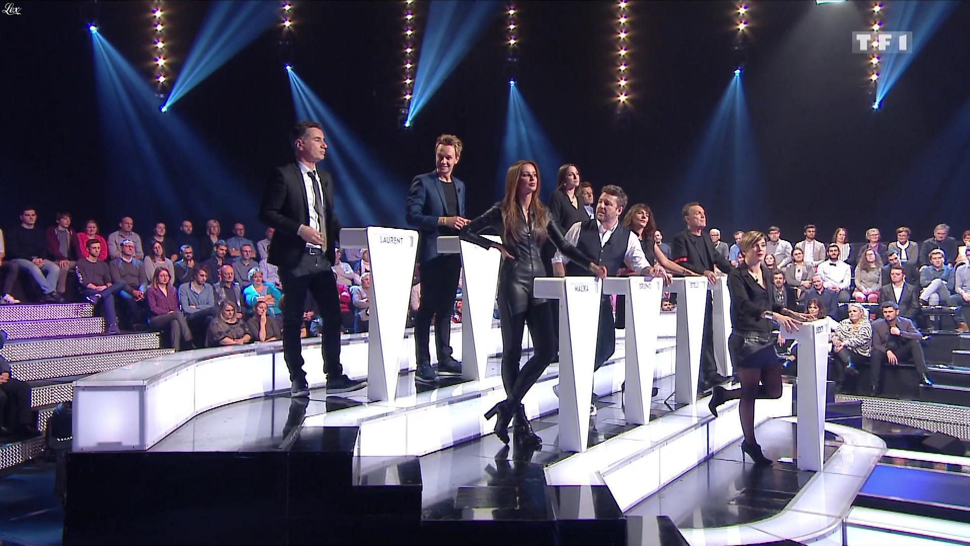 Malika Ménard et Bénédicte Le Chatelier dans le Grand Concours. Diffusé à la télévision le 01/02/19.