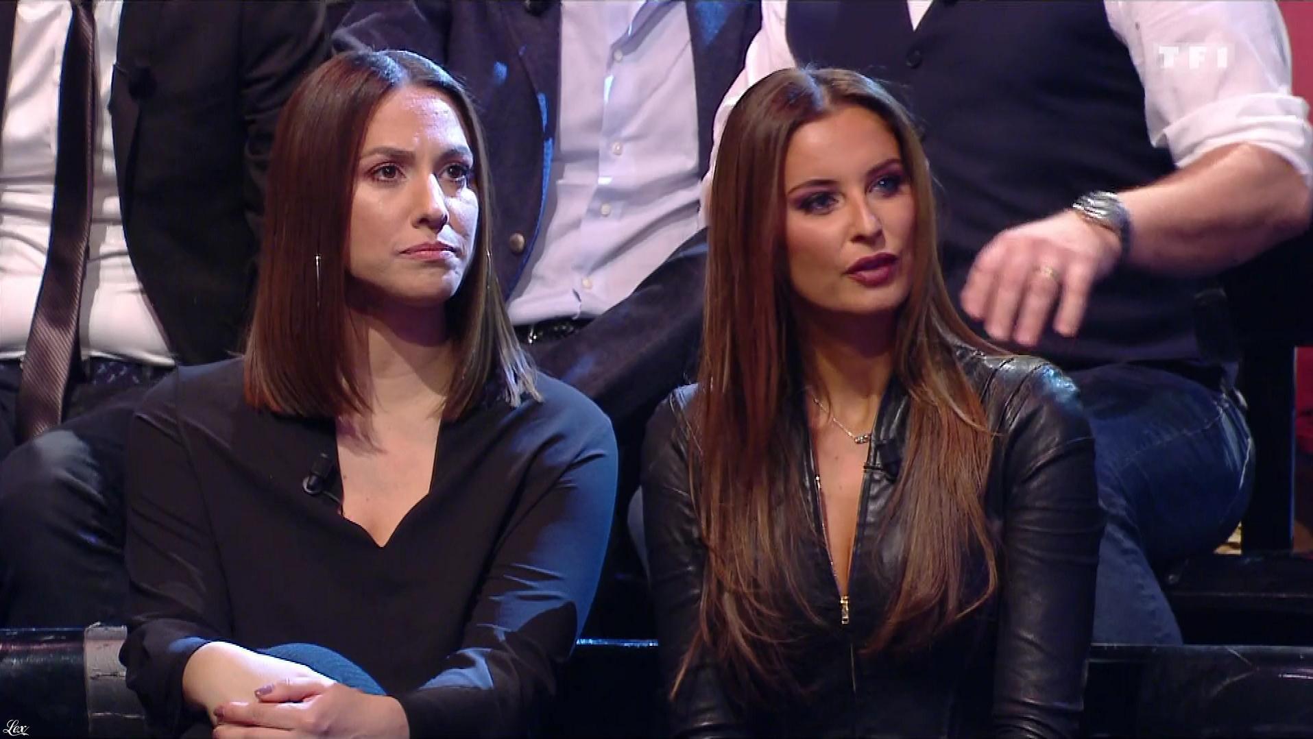 Malika Ménard dans le Grand Concours. Diffusé à la télévision le 01/02/19.