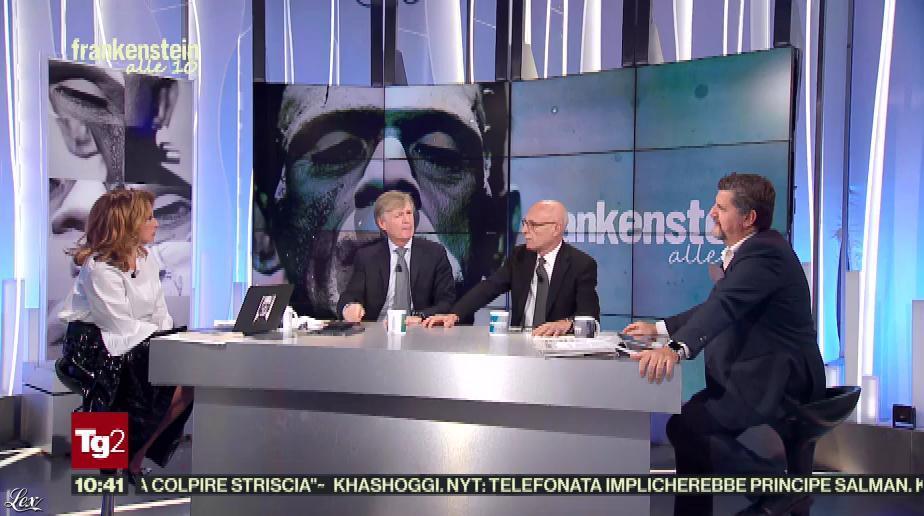 Manuela Moreno dans Frankenstein Alle 10. Diffusé à la télévision le 13/11/18.