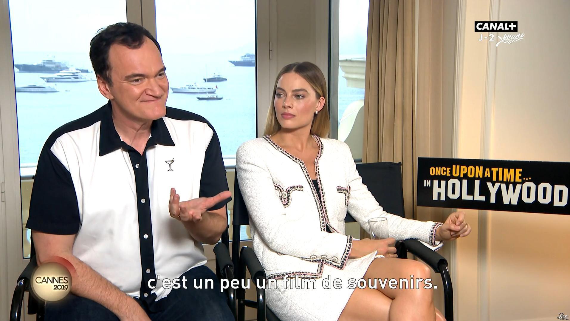 Margot Robbie dans le Journal du Festival. Diffusé à la télévision le 23/05/19.