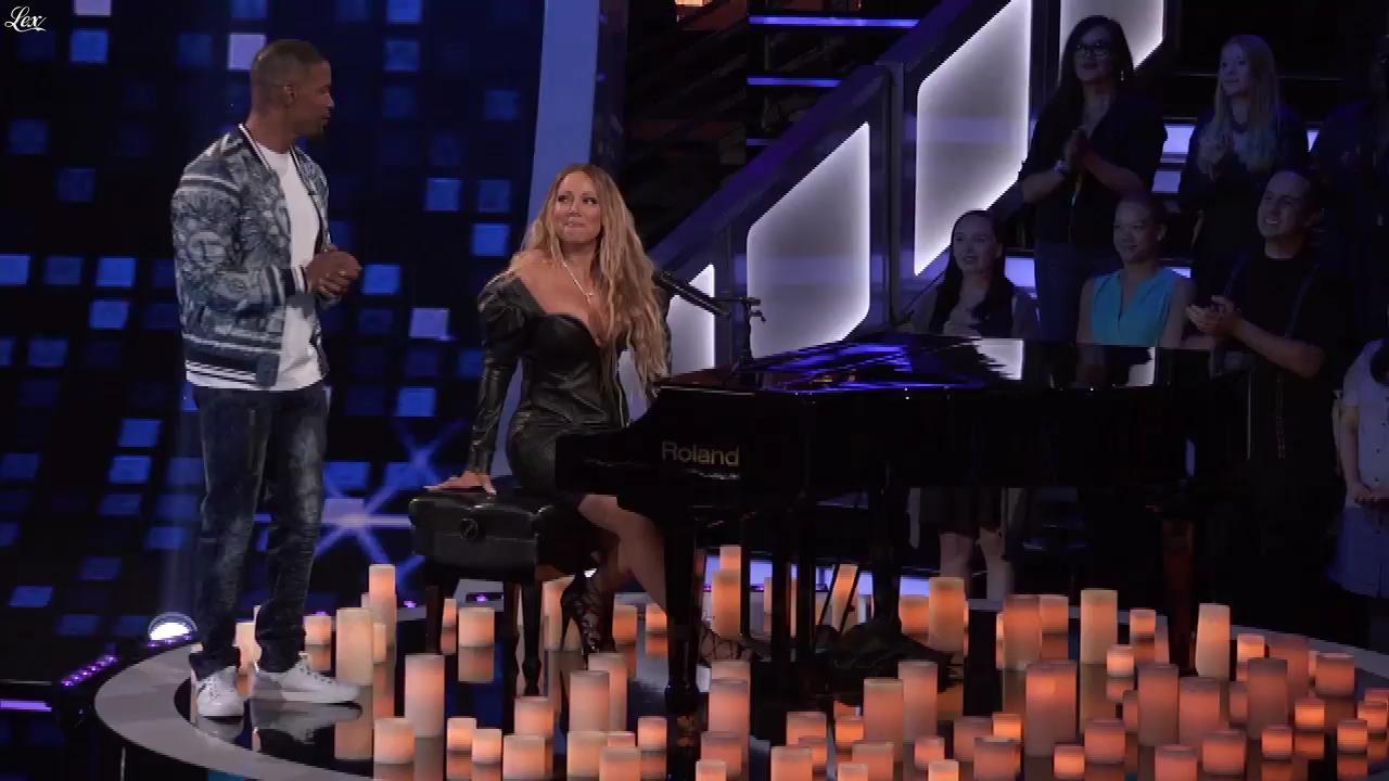 Mariah Carey dans Beat Shazam. Diffusé à la télévision le 12/07/17.