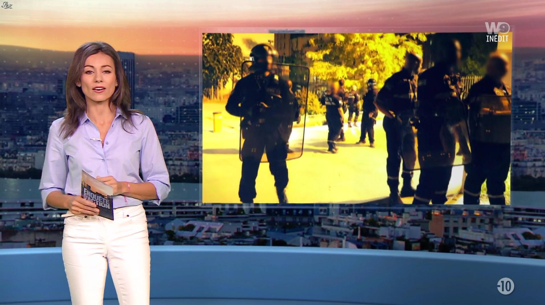 Marie-Ange Casalta dans Enquête d'Action. Diffusé à la télévision le 11/01/19.