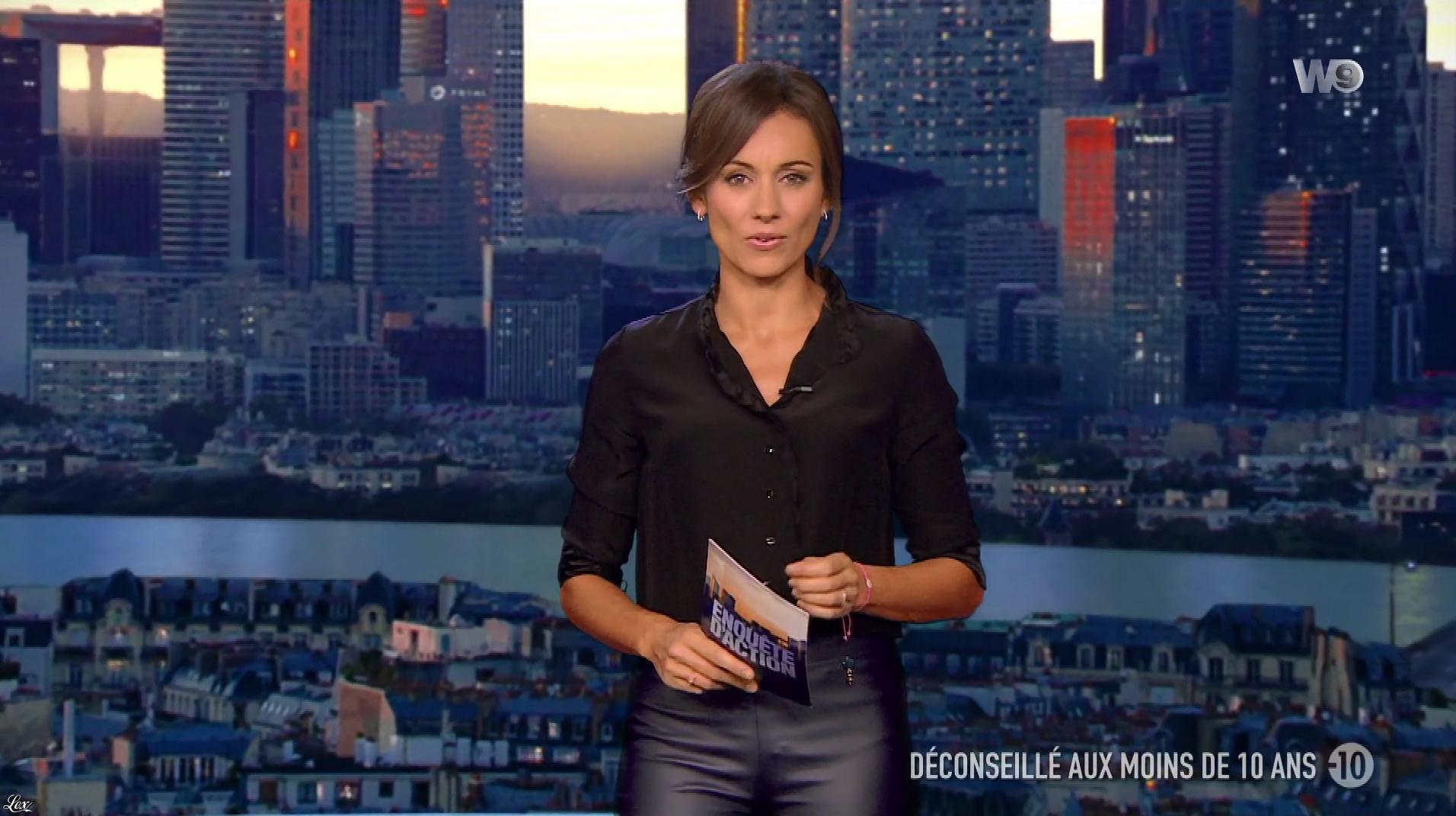 Marie-Ange Casalta dans Enquête d'Action. Diffusé à la télévision le 19/10/18.