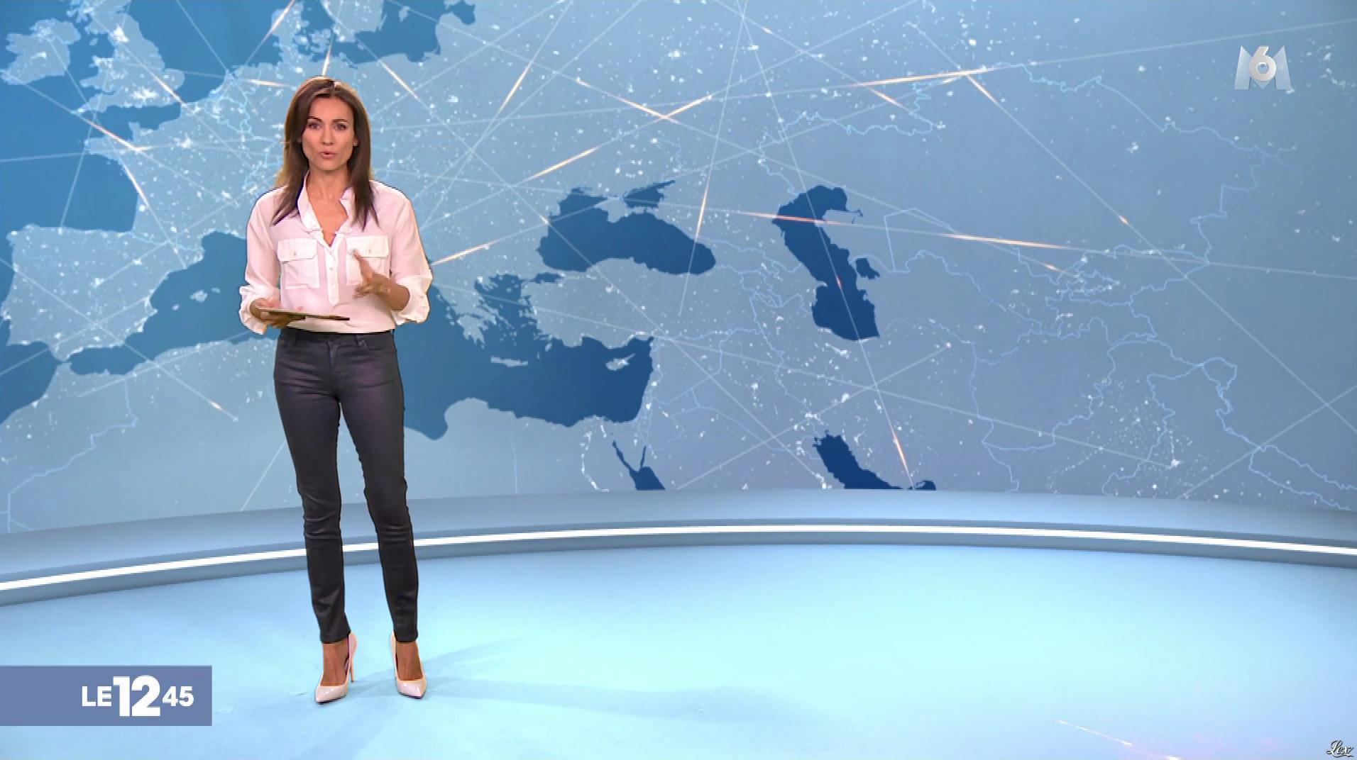 Marie Ange Casalta dans le 12-45. Diffusé à la télévision le 02/03/19.