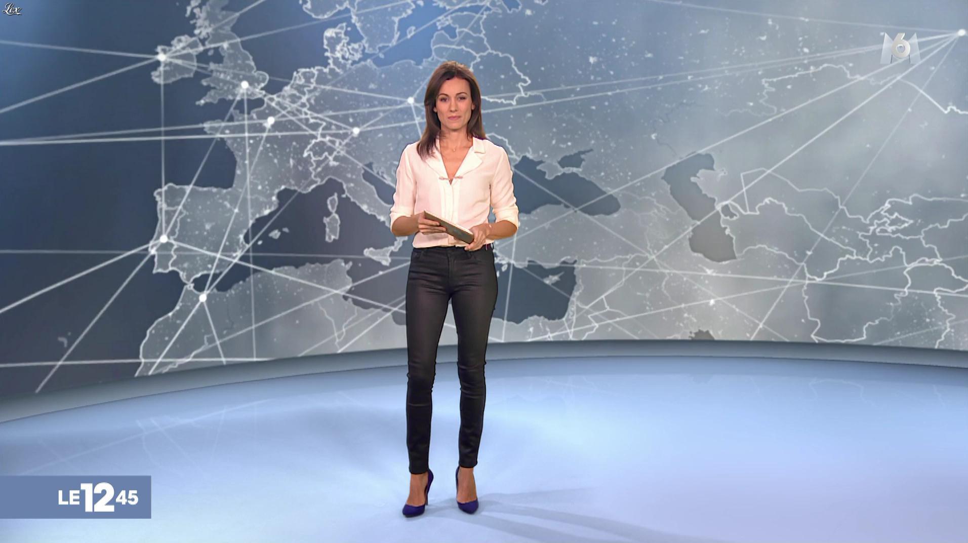 Marie Ange Casalta dans le 12-45. Diffusé à la télévision le 30/12/18.