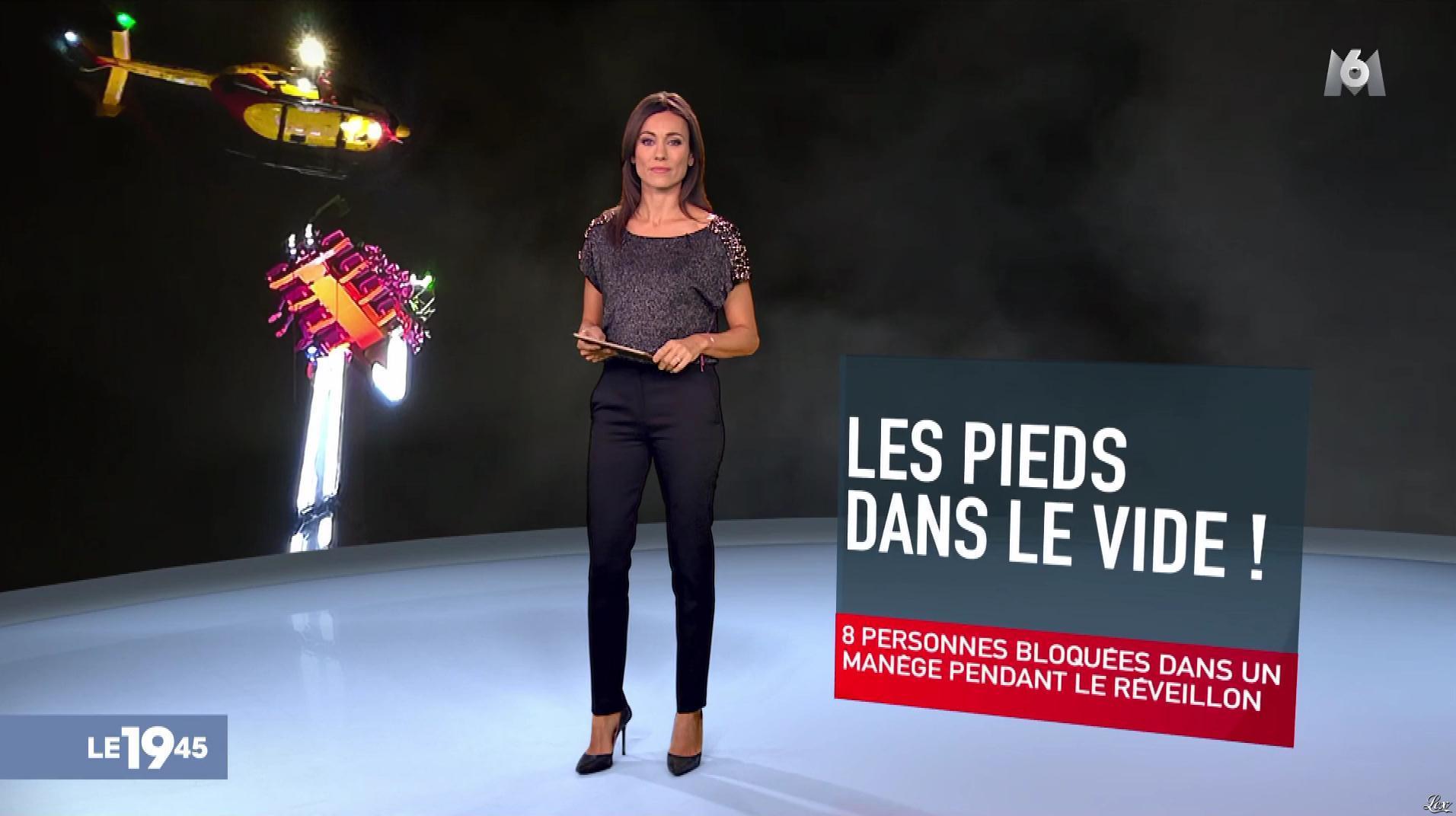Marie-Ange Casalta dans le 19-45. Diffusé à la télévision le 01/01/19.