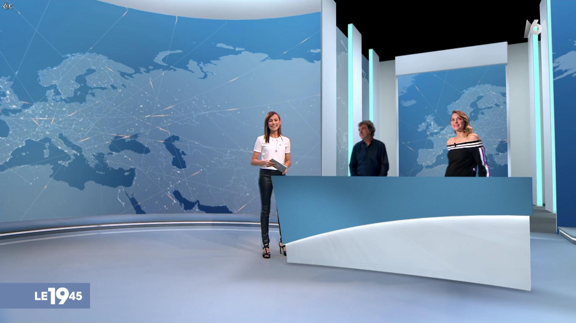 Marie-Ange Casalta dans le 19-45. Diffusé à la télévision le 27/04/19.