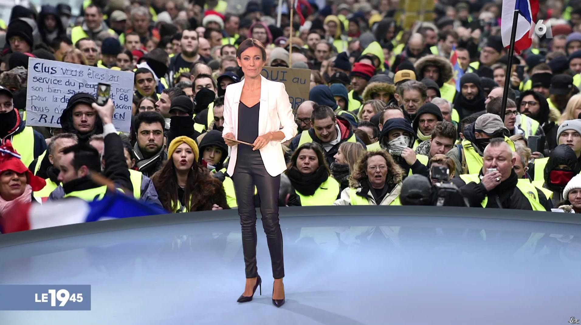 Marie-Ange Casalta dans le 19-45. Diffusé à la télévision le 29/12/18.