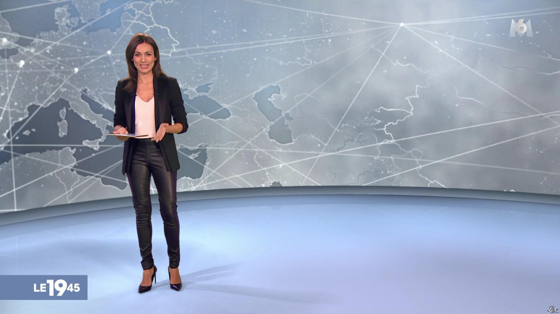 Marie Ange Casalta dans le 19-45. Diffusé à la télévision le 30/12/18.