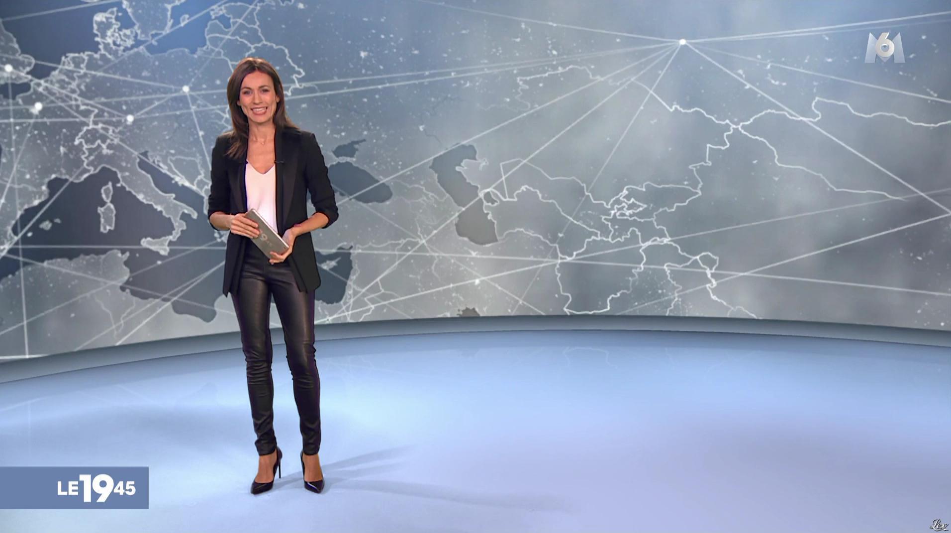 Marie-Ange Casalta dans le 19-45. Diffusé à la télévision le 30/12/18.