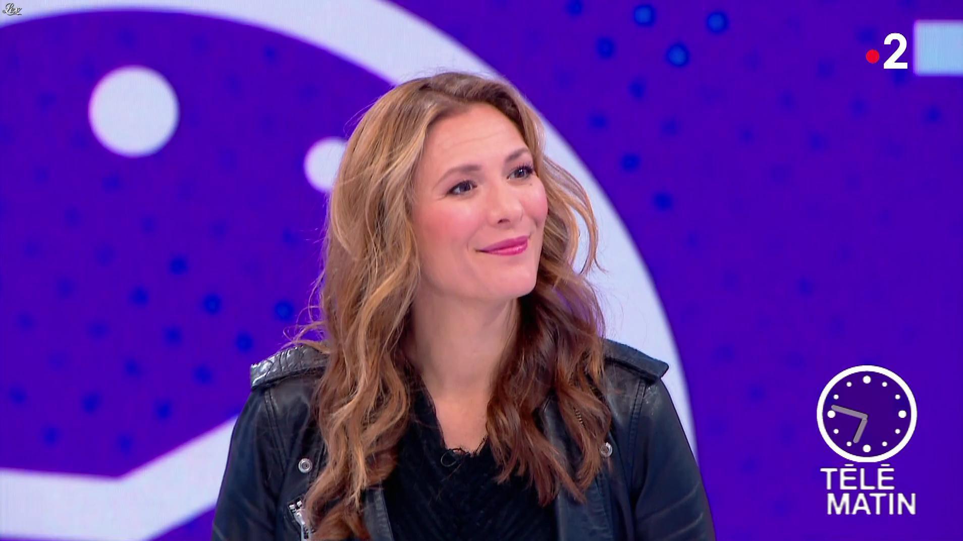Marie Mamgioglu dans Télématin. Diffusé à la télévision le 25/09/18.