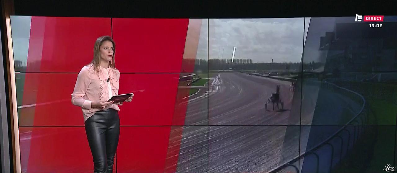 Marine Costabadie dans le Grand Direct. Diffusé à la télévision le 07/03/19.