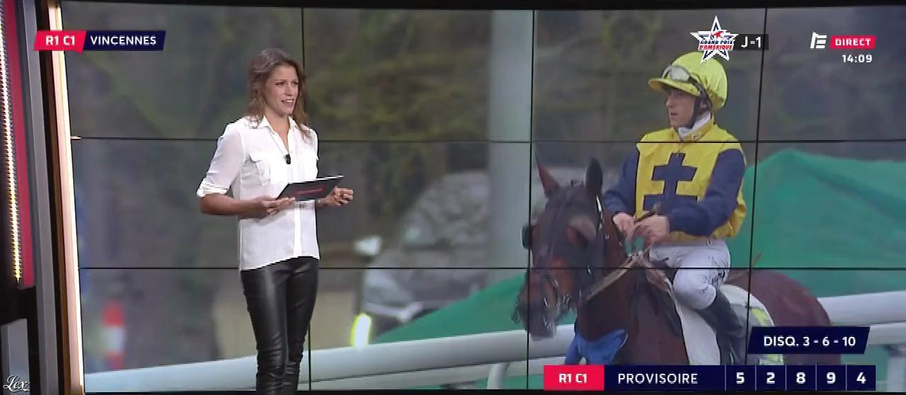 Marine Costabadie dans le Grand Direct. Diffusé à la télévision le 26/01/19.