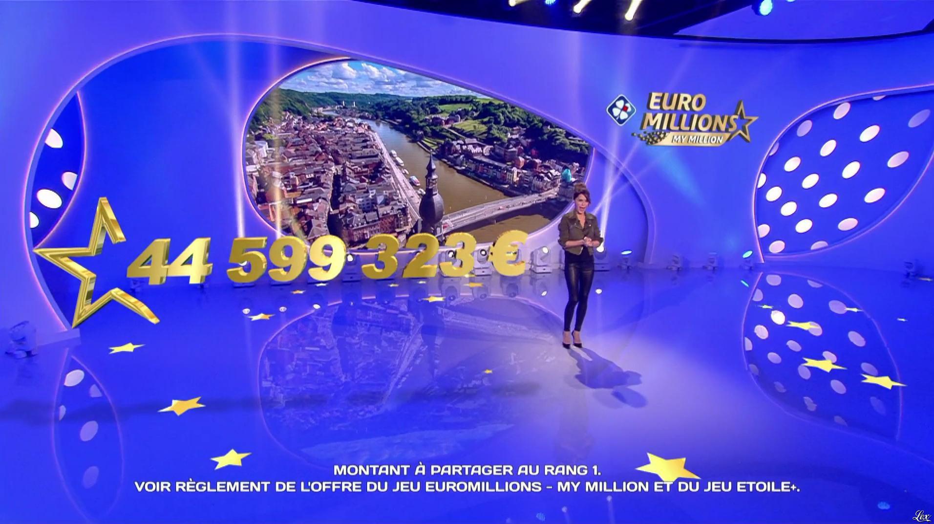 Marion Jollès Grosjean dans Euro Millions. Diffusé à la télévision le 22/05/19.