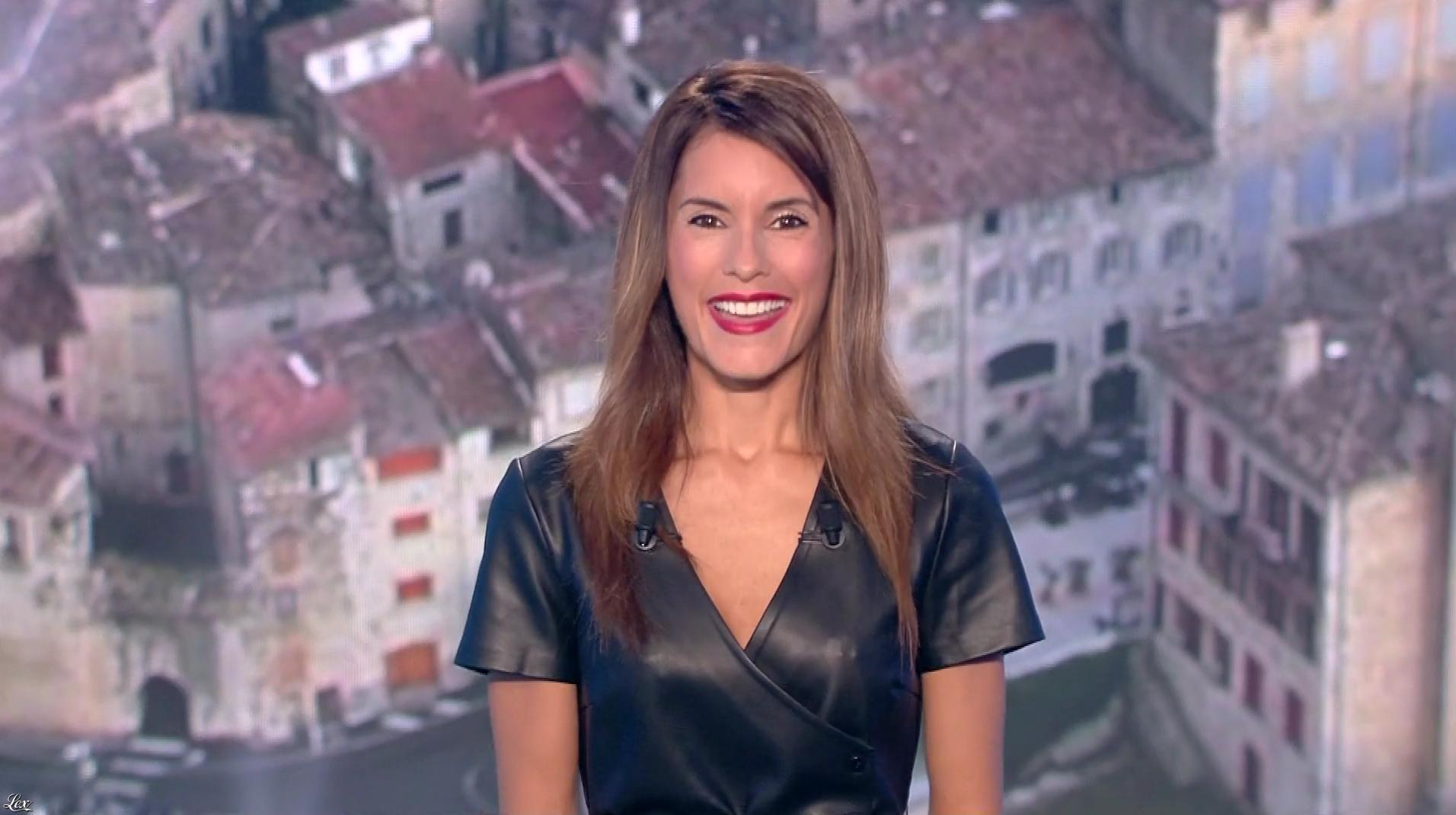 Marion Jollès Grosjean lors du Tirage du Loto. Diffusé à la télévision le 29/09/18.