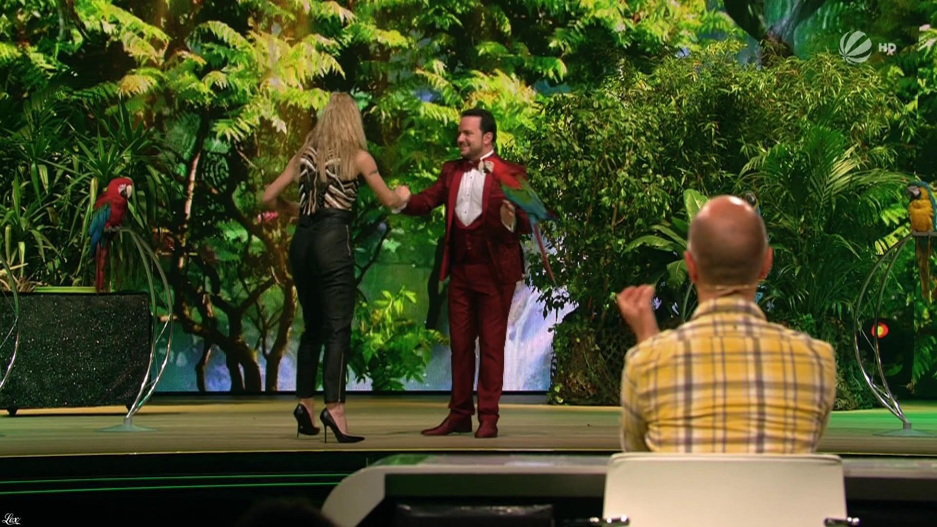 Michelle Hunziker dans Superpets. Diffusé à la télévision le 01/12/17.
