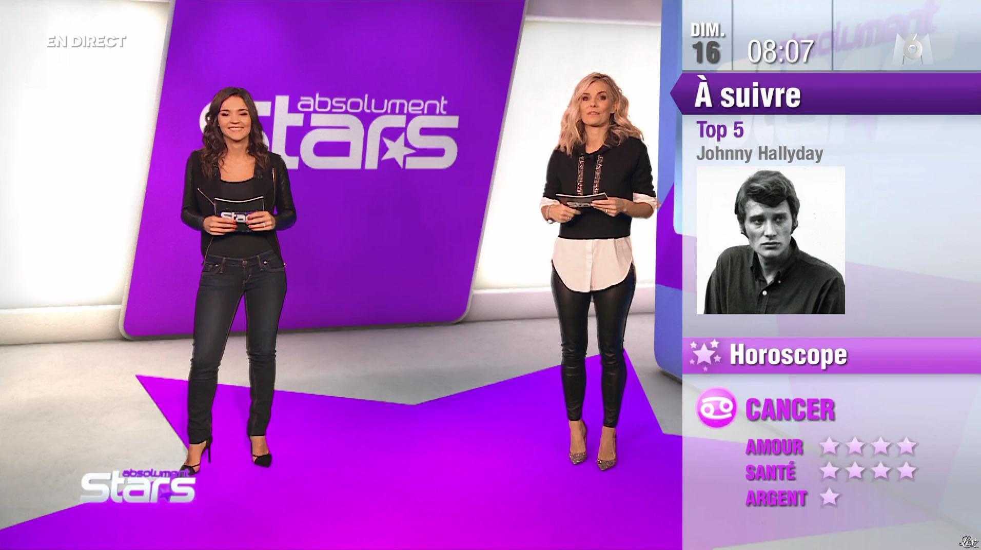 Nancy Sinatra et Claire Nevers dans Absolument Stars. Diffusé à la télévision le 16/12/18.