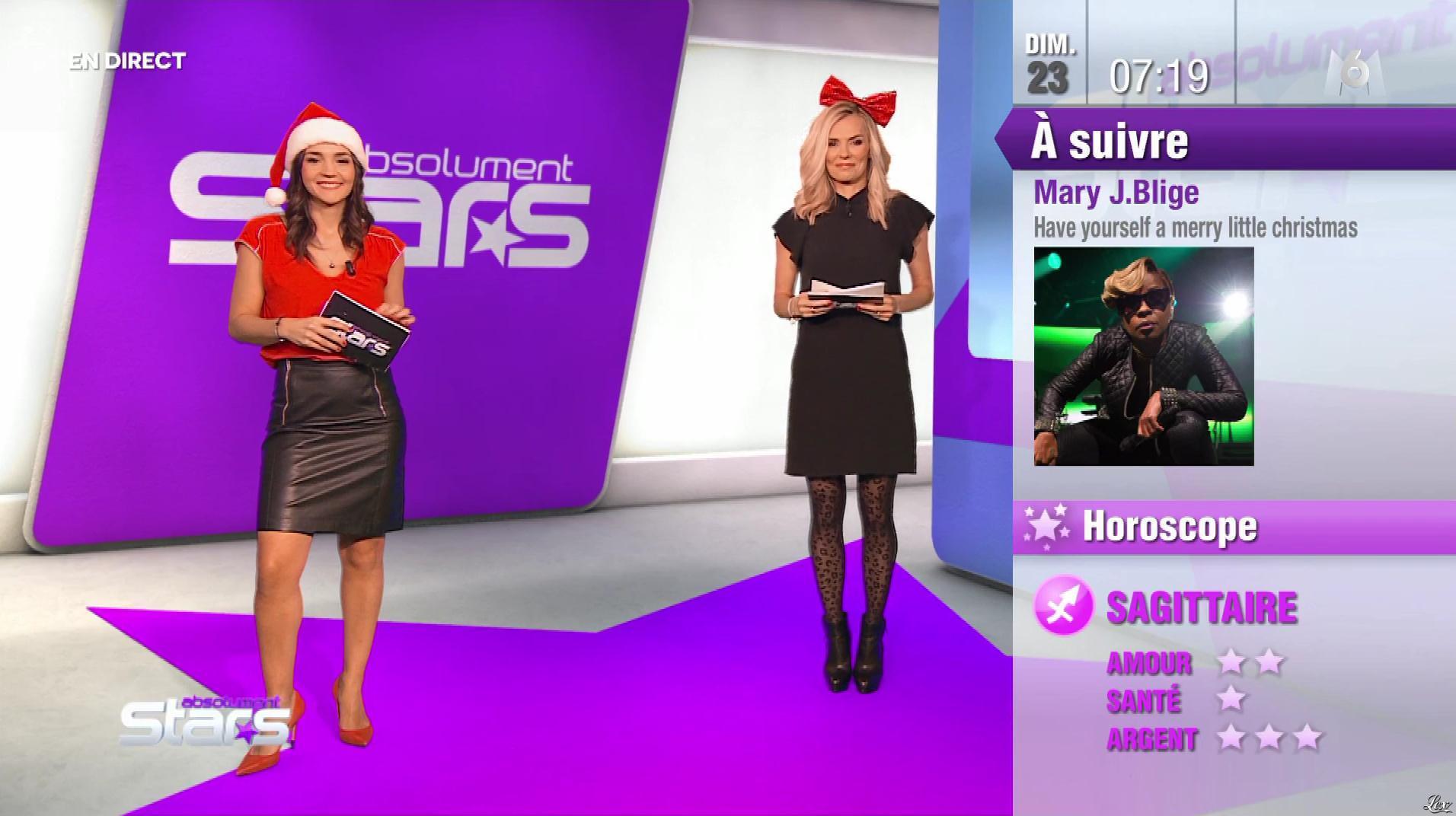 Nancy Sinatra et Claire Nevers dans Absolument Stars. Diffusé à la télévision le 23/12/18.