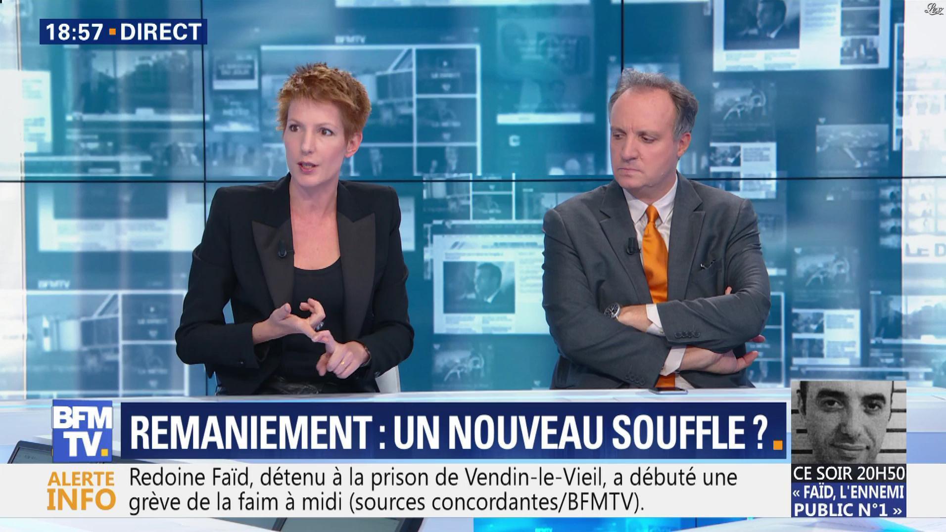 Natacha Polony dans BFM TV. Diffusé à la télévision le 08/10/18.