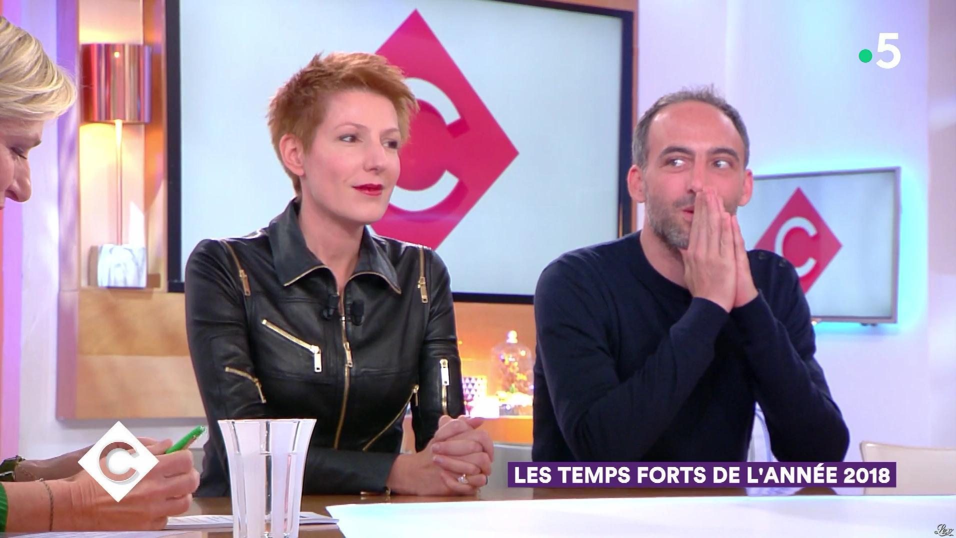 Natacha Polony dans C à Vous. Diffusé à la télévision le 02/01/19.