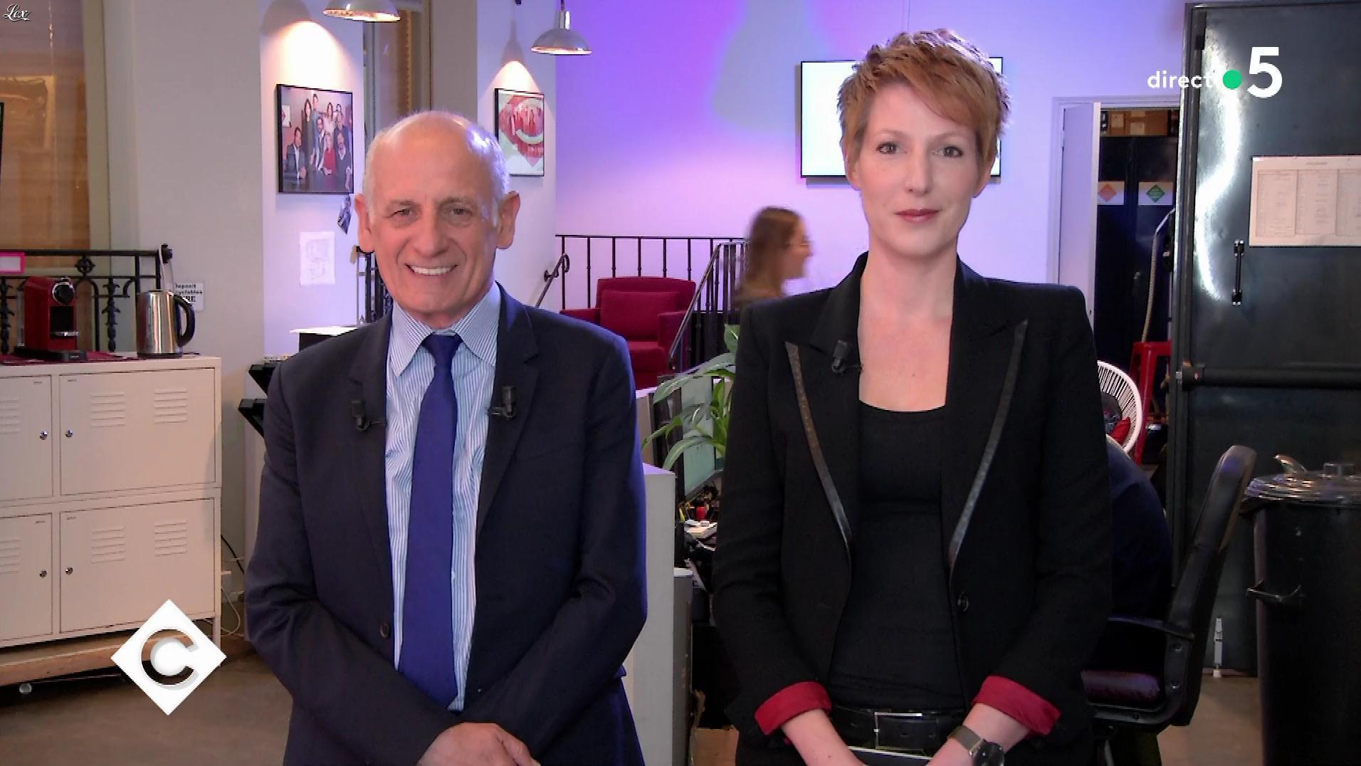 Natacha Polony dans C à Vous. Diffusé à la télévision le 08/04/19.